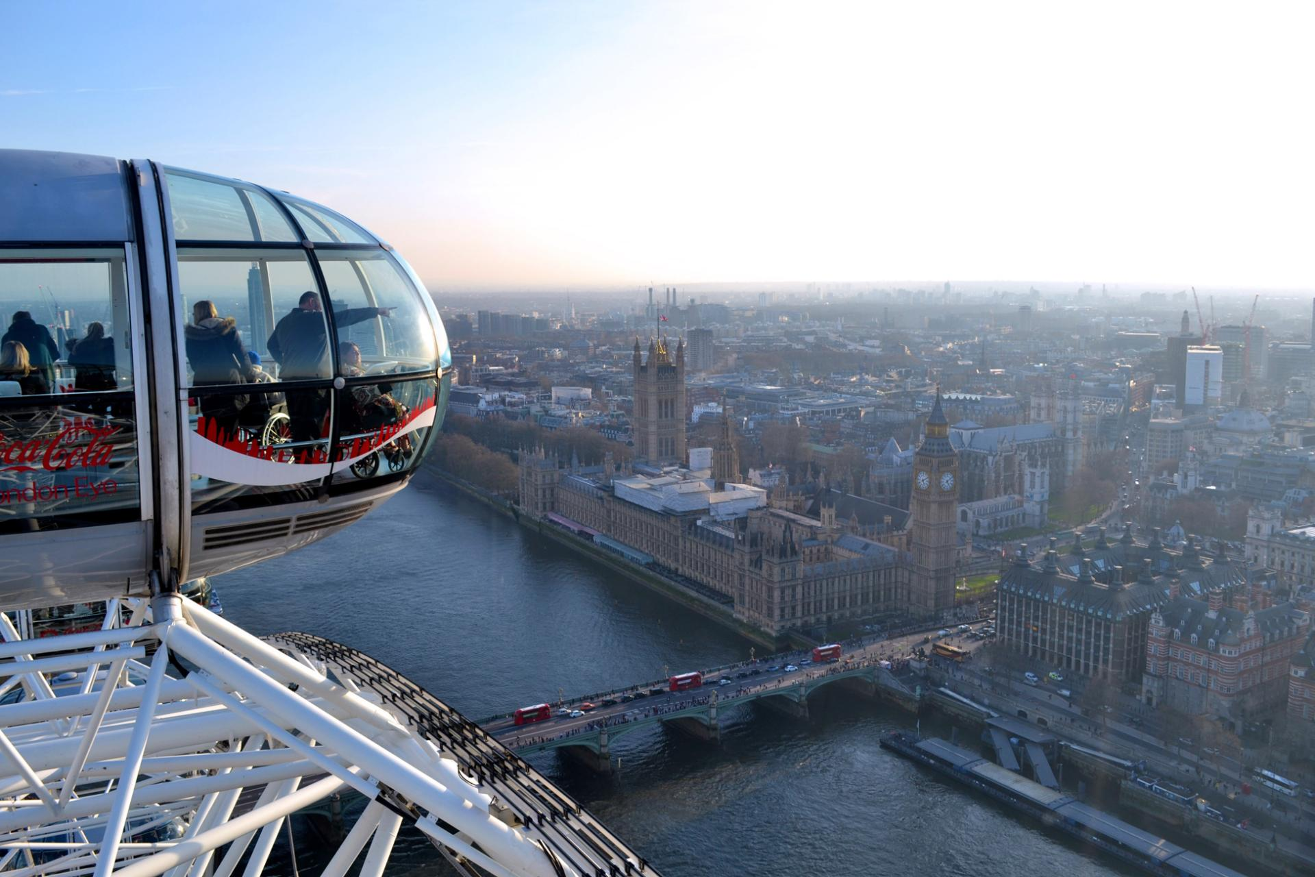 London Eye: vistas