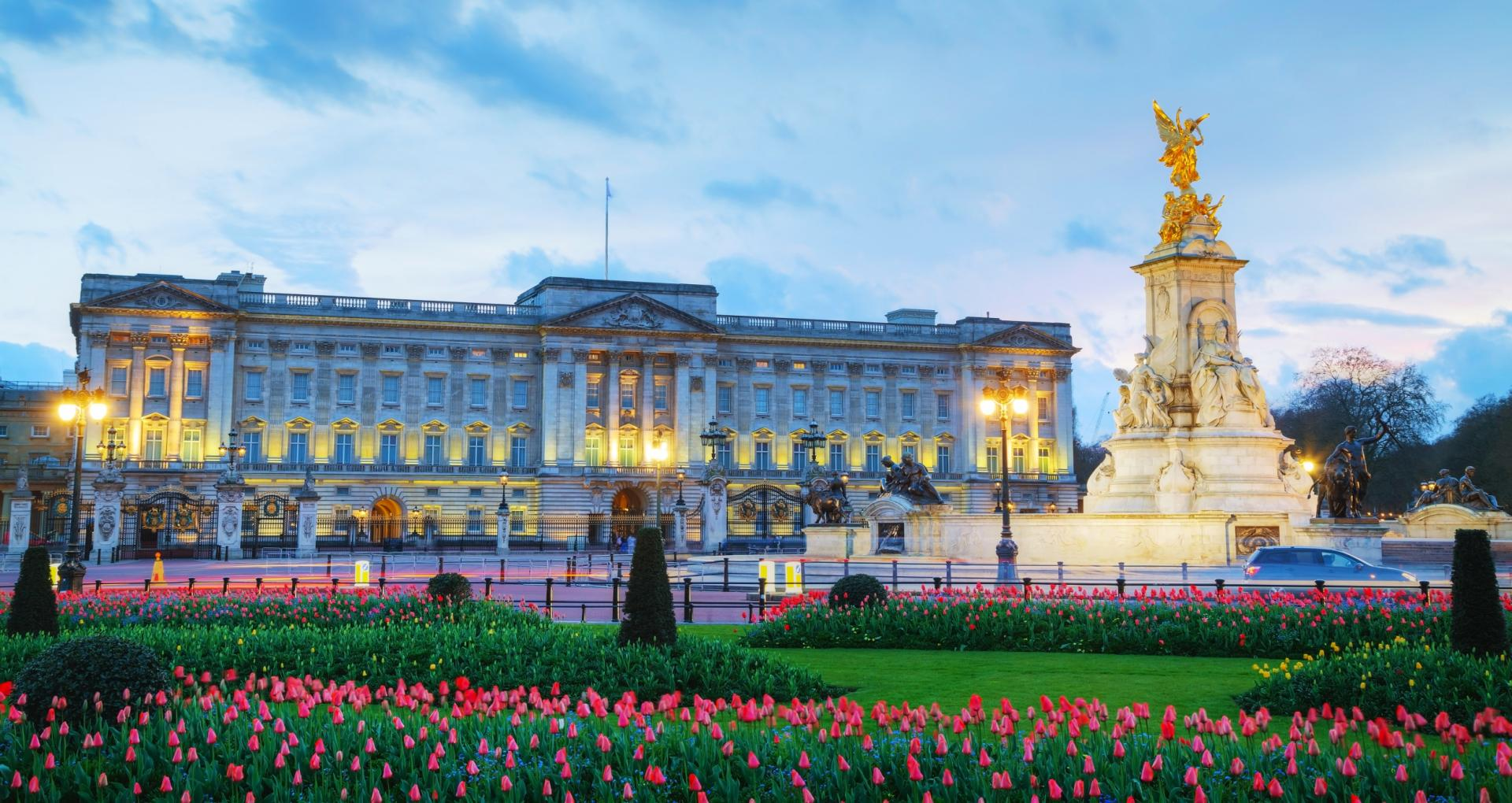 El Buckingham Palace en Londres