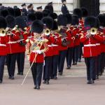 El cambio de guardia en el Buckingham Palace de Londres