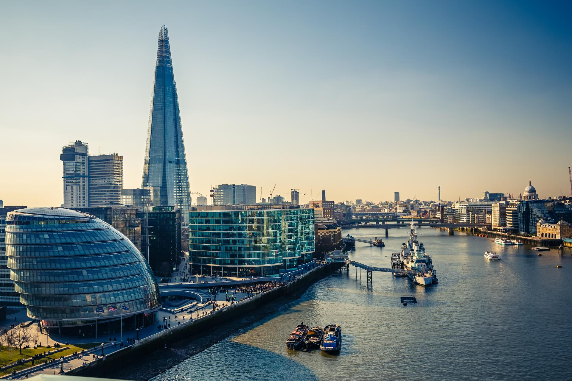 The Shard, icono del Londres más moderno e innovador