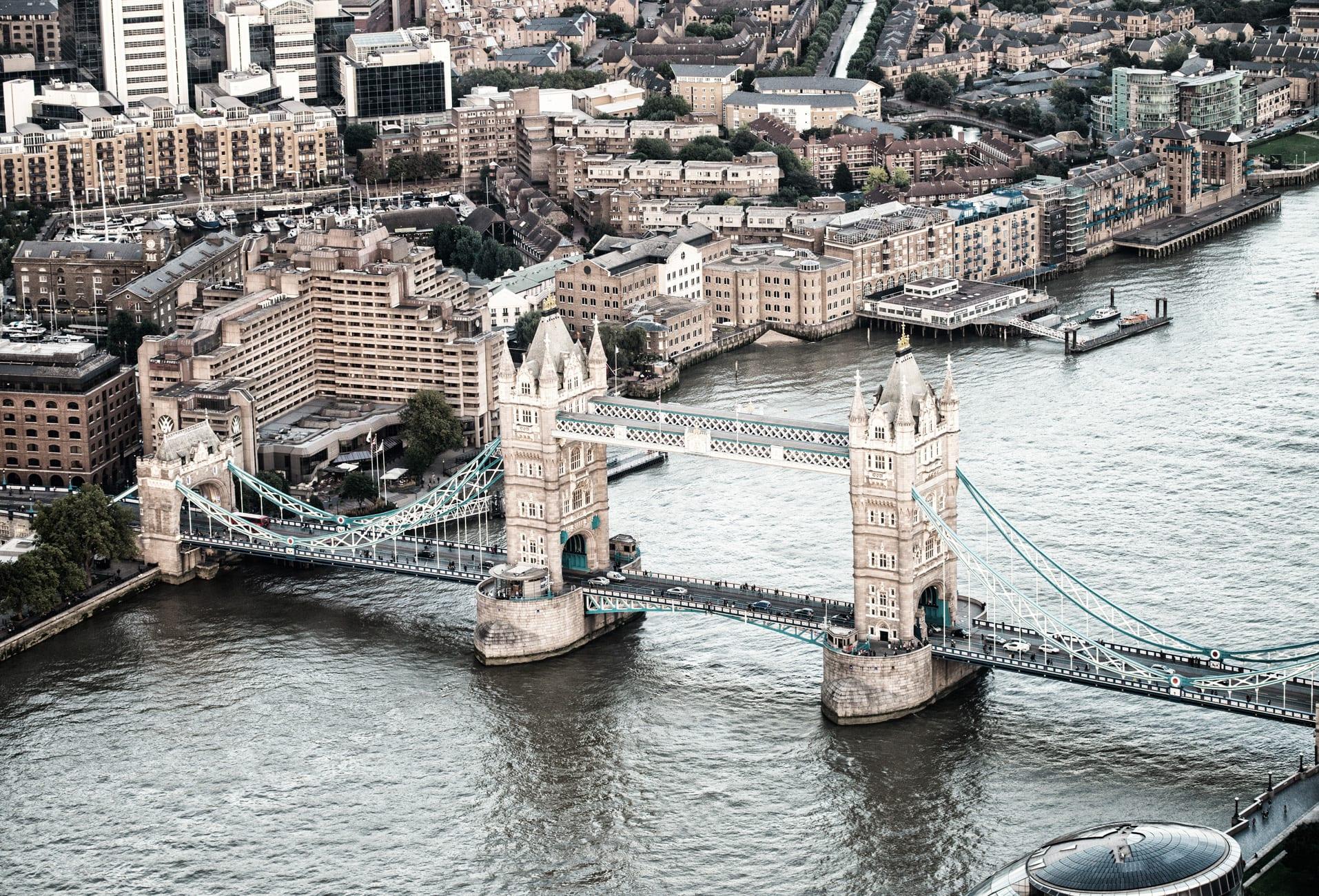 El Tower Bridge de Londres, todo un icono de la ciudad