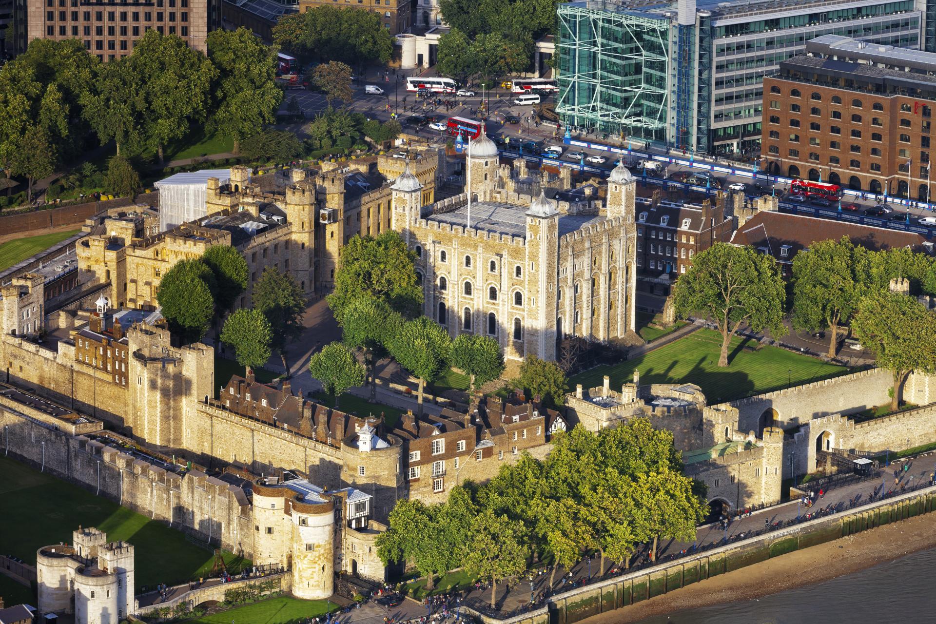 La Tower of London en Londres