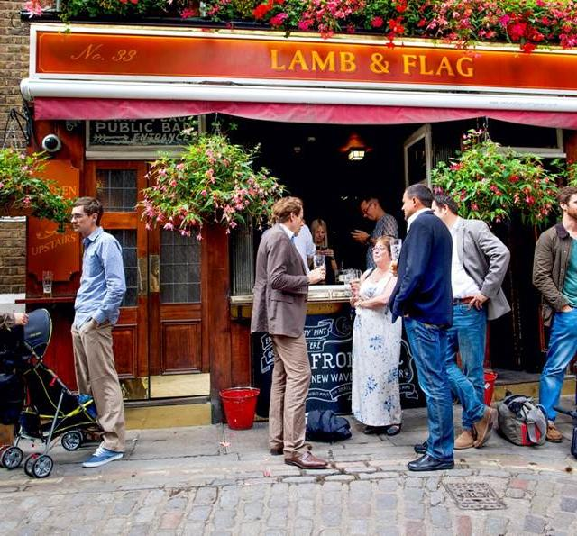 Lamb & Flag Pub en Covent Garden