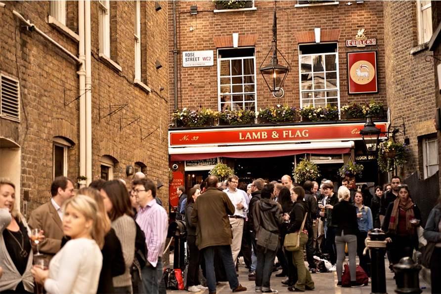 Lamb & Flag Pub London 6