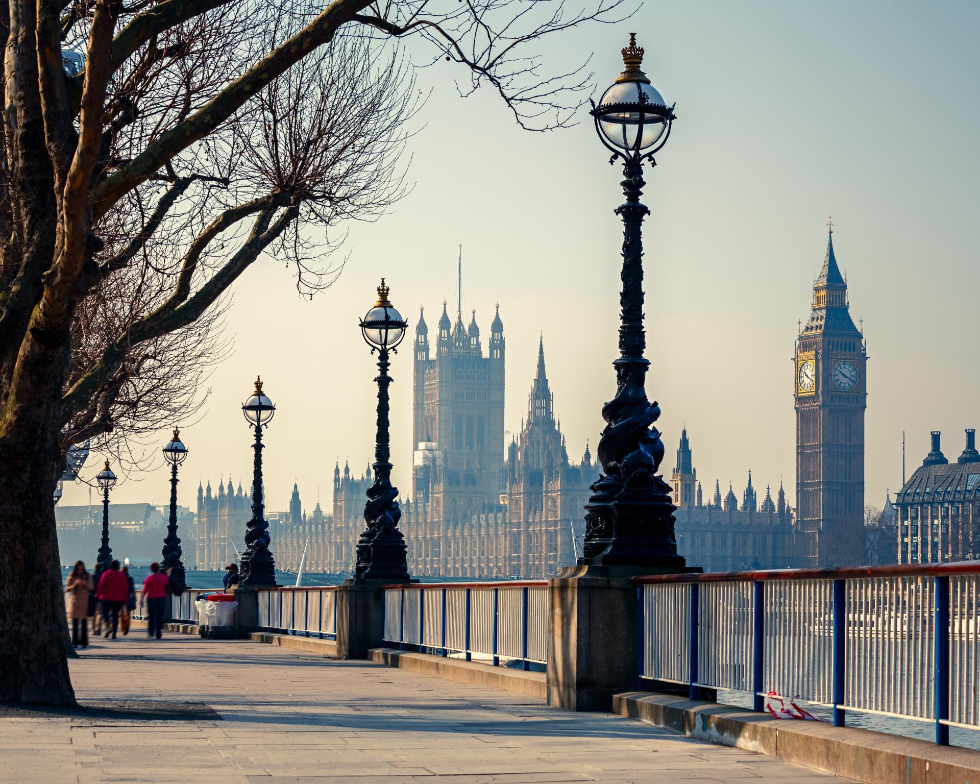 El Big Ben: la famosa torre del reloj de Londres