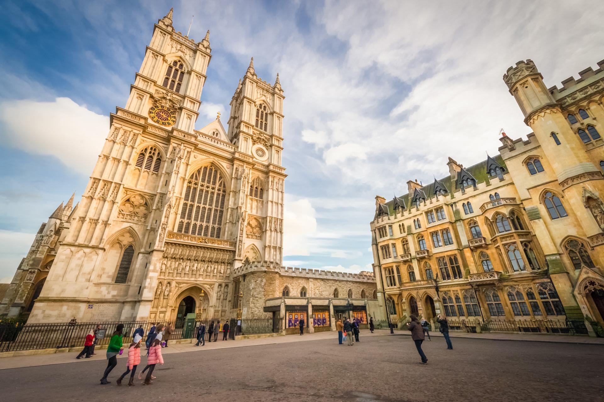 La Abadía de Westminster en Londres