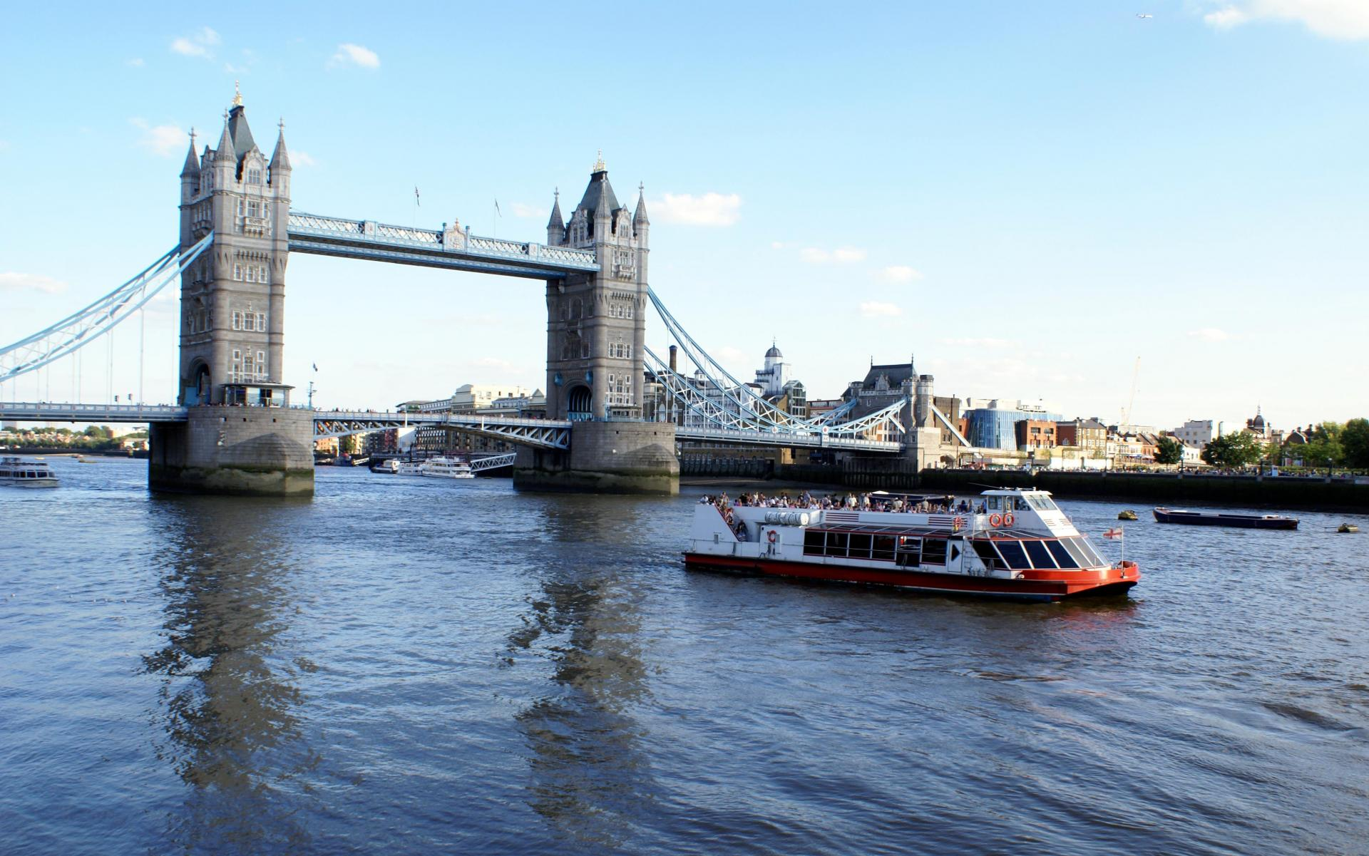 Cosas que hacer en Londres: Crucero por el Támesis