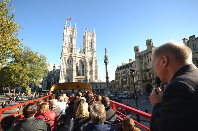 Tour en autobús a Westminster Abbey