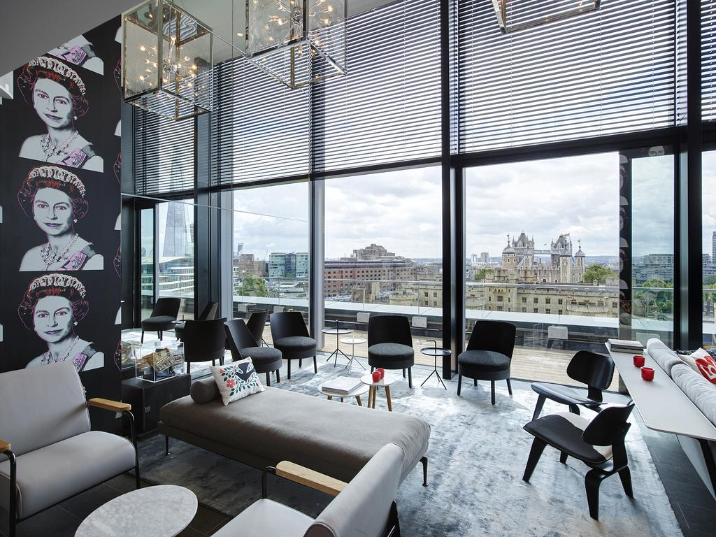 Los mejores hoteles de Londres: CitizenM