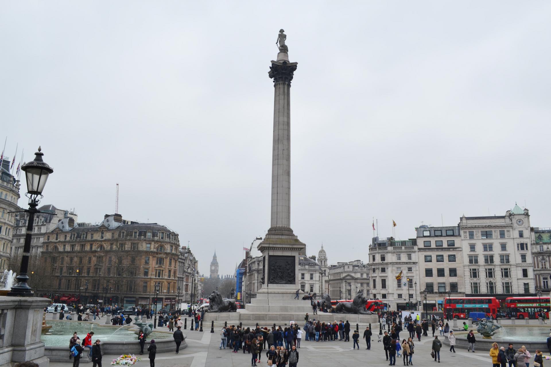Las Trafalgar Square en Londres