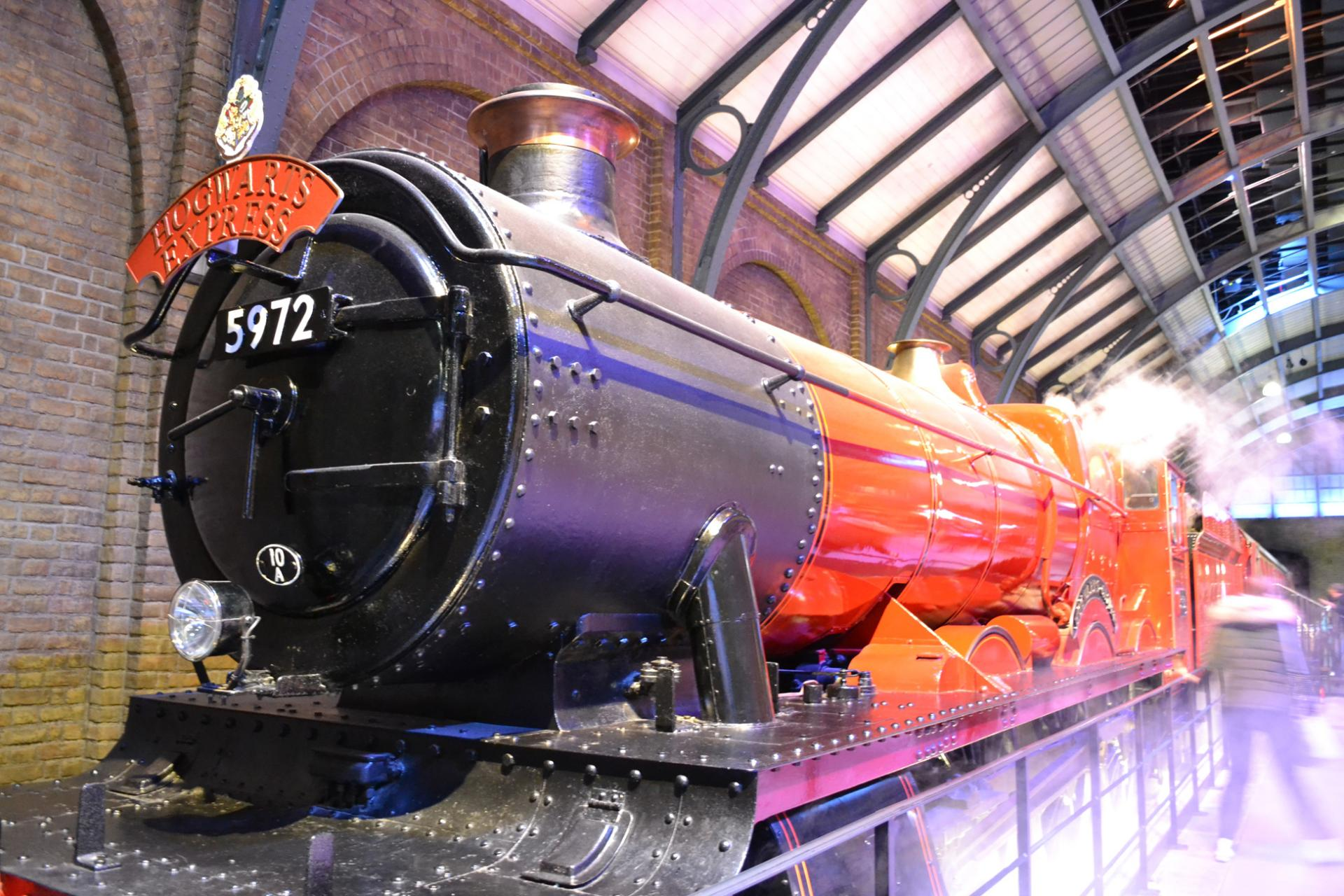 Hogwarts Express en los estudios Harry Potter en Londres