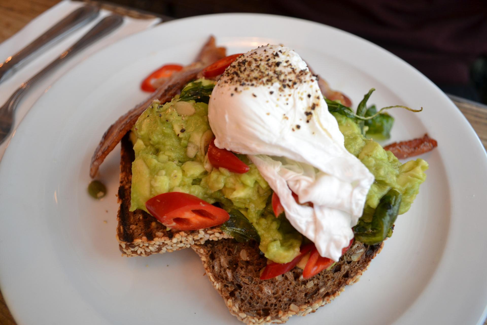 The Breakfast Club London: Desayuno