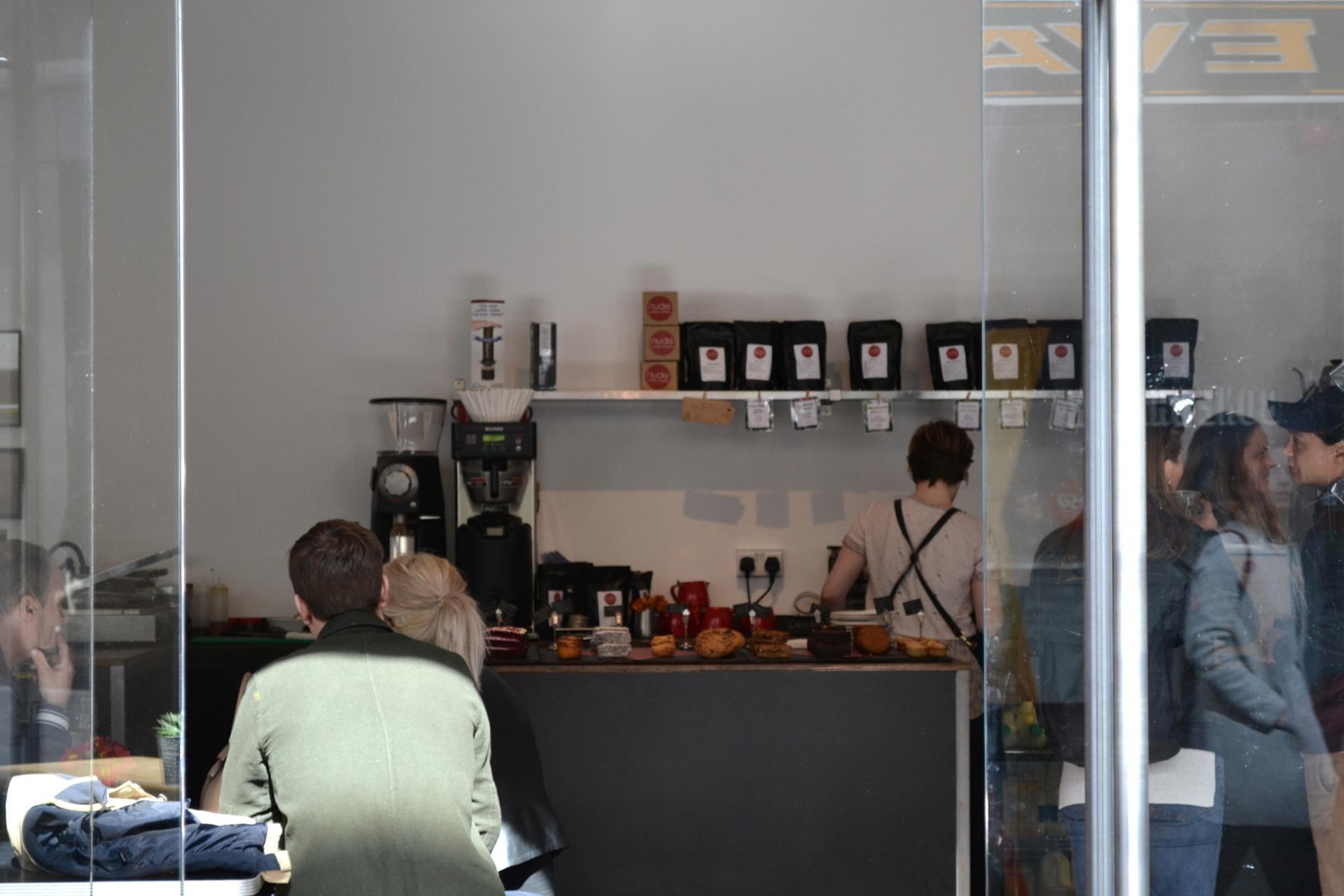 Cafeterias en Londres: Nude Coffee Roasters