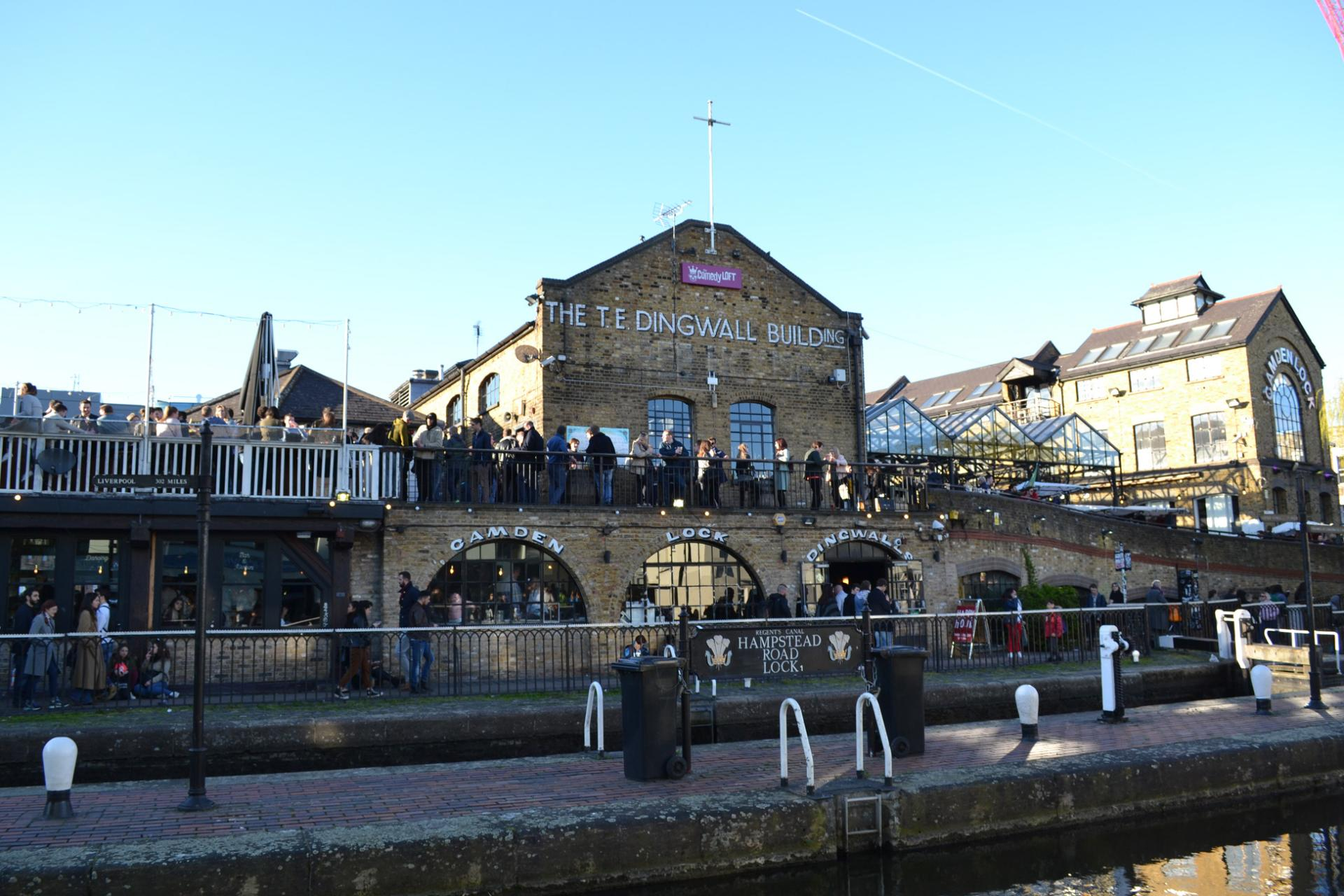 Mercado de Camden en Londres