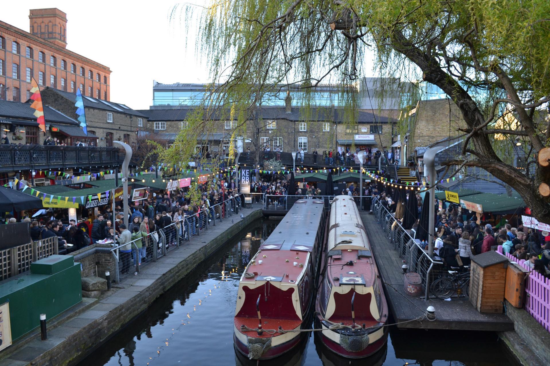 Camden Market en Londres