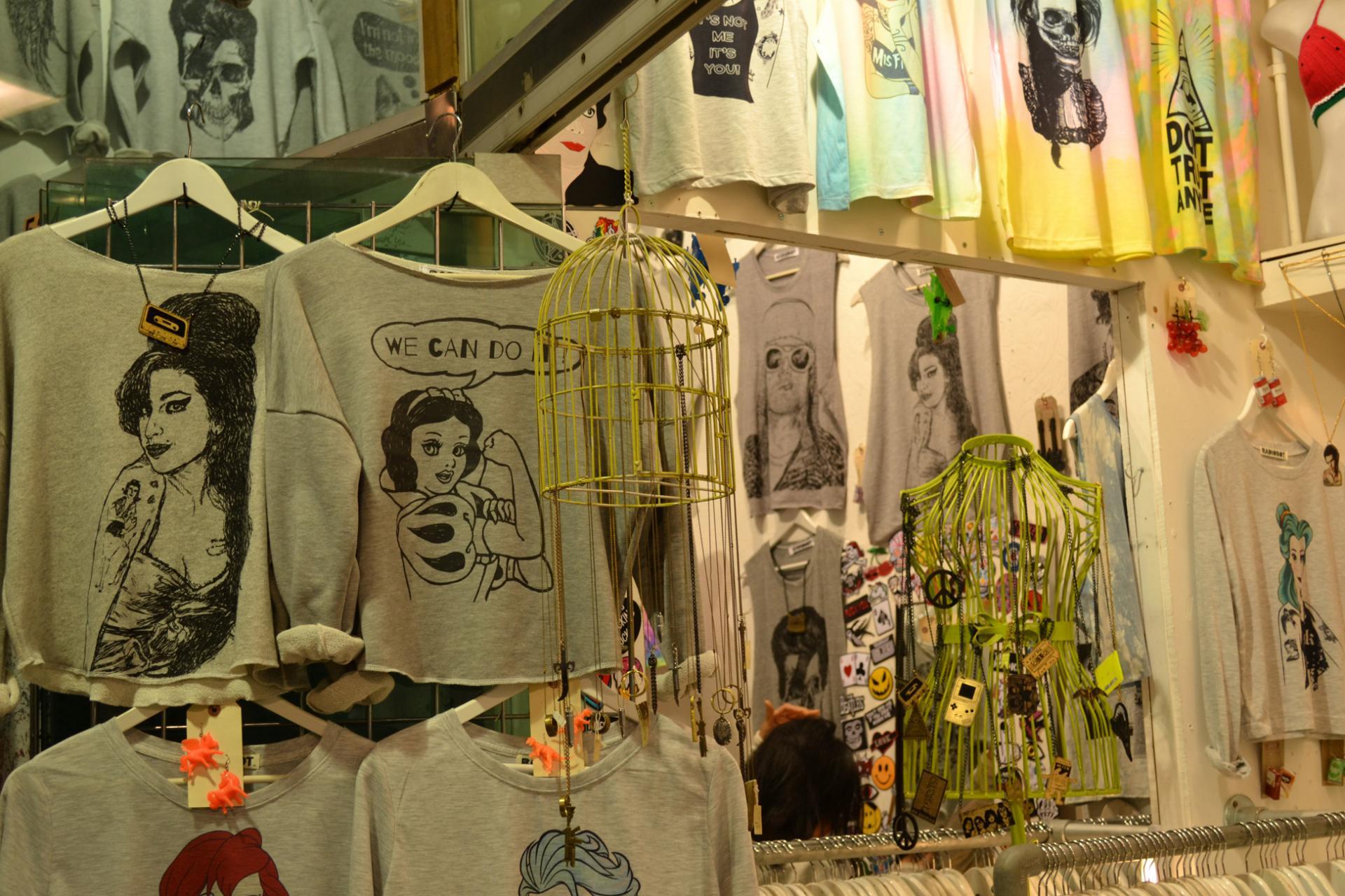 Compras en el Camden Merket, London