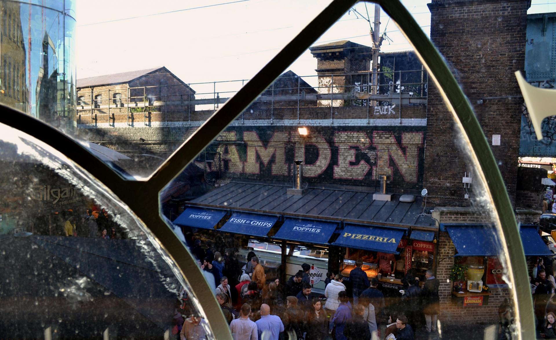 El Camden Market en Londres