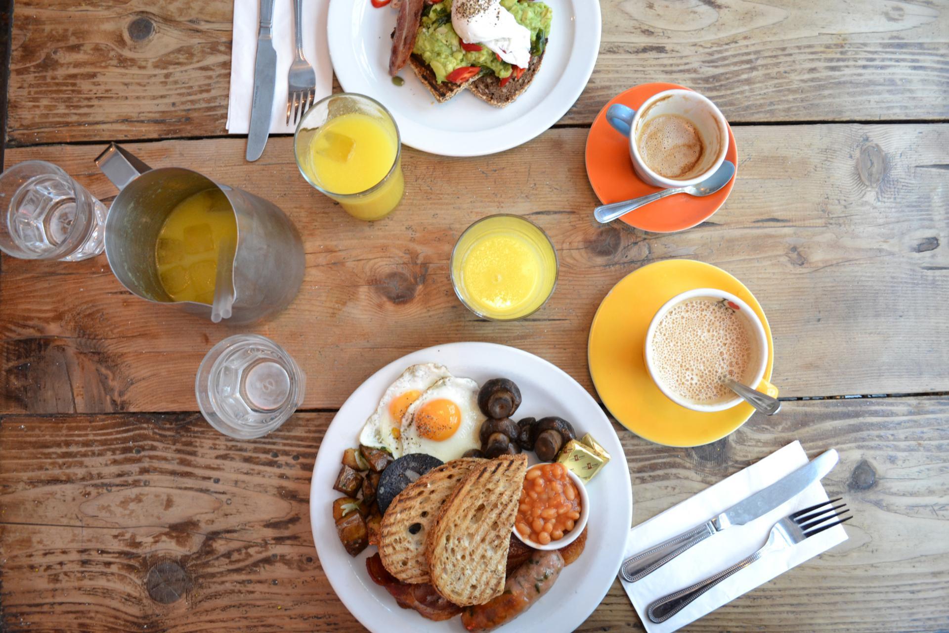 Desayunas en Londres: The Breakfast Club