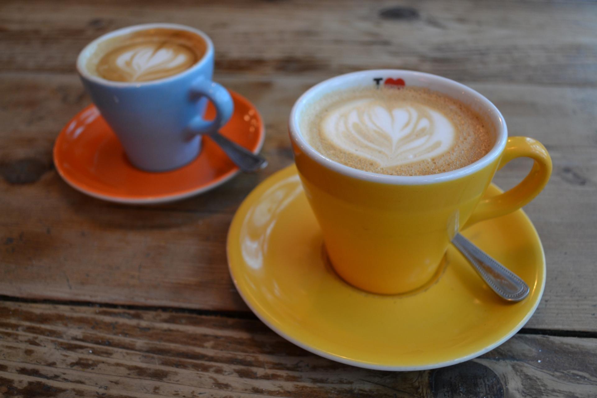 Cafe en el The Breakfast Club, Spitalfields London