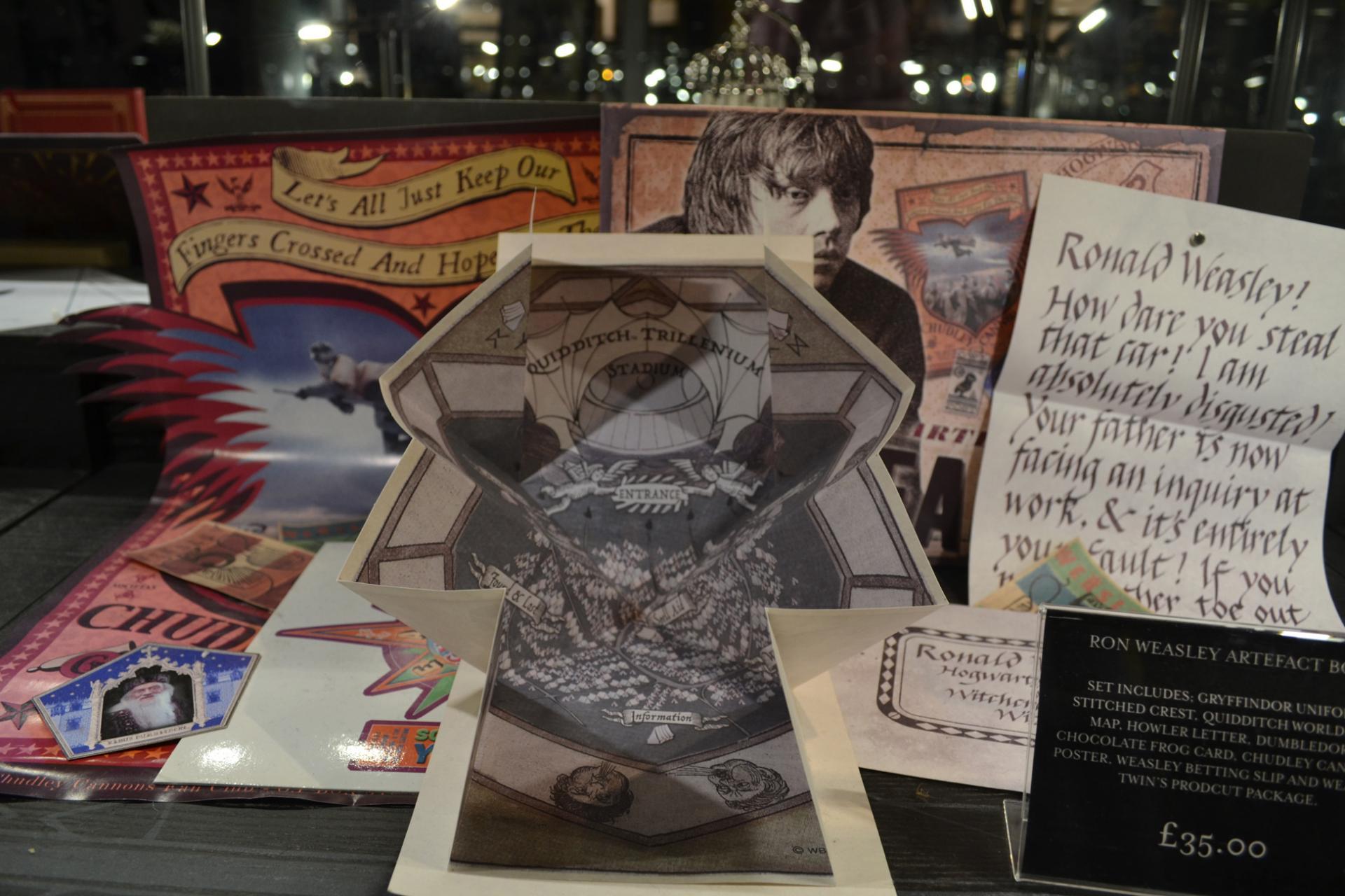 Recuerdos del parque de Harry Potter en Londres