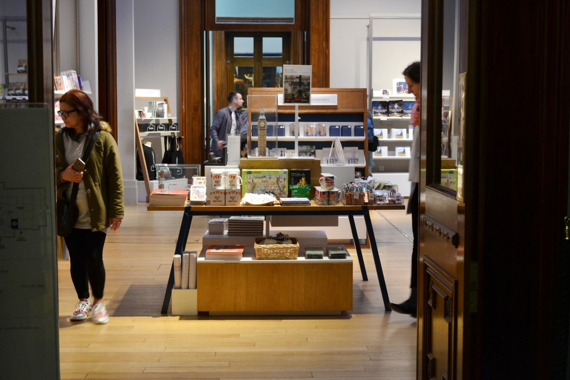 Tienda de la Galería Nacional de Londres