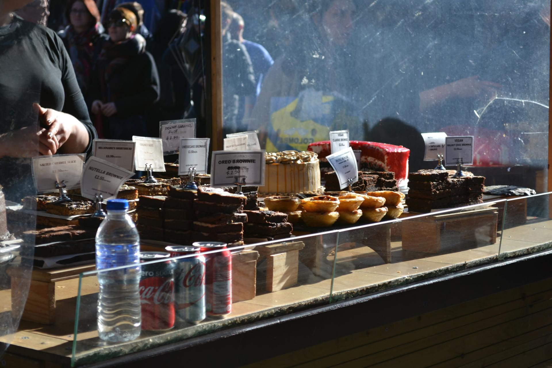Dulces en el Mercado de Camden de Londres
