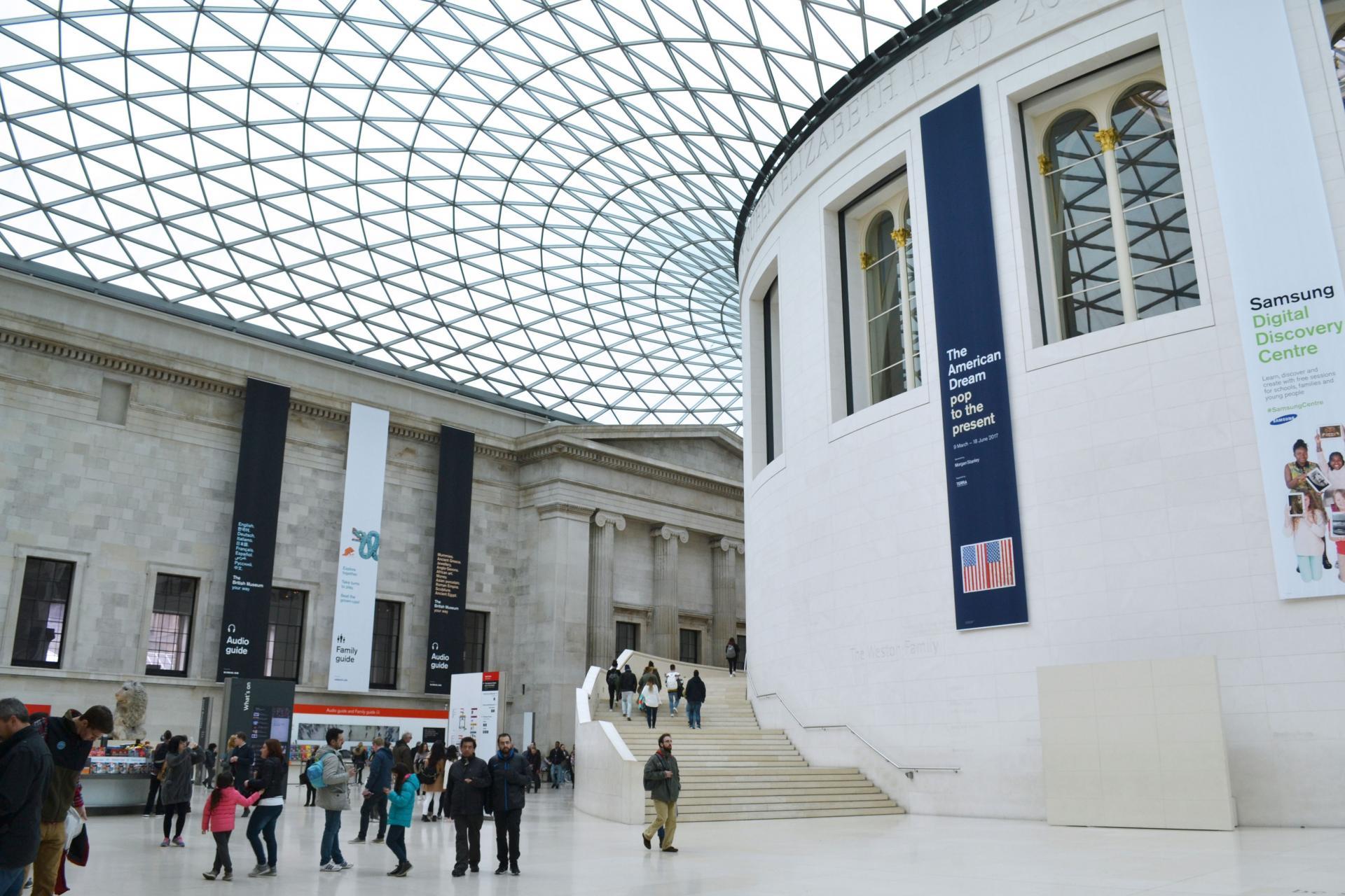 El British Museum por dentro