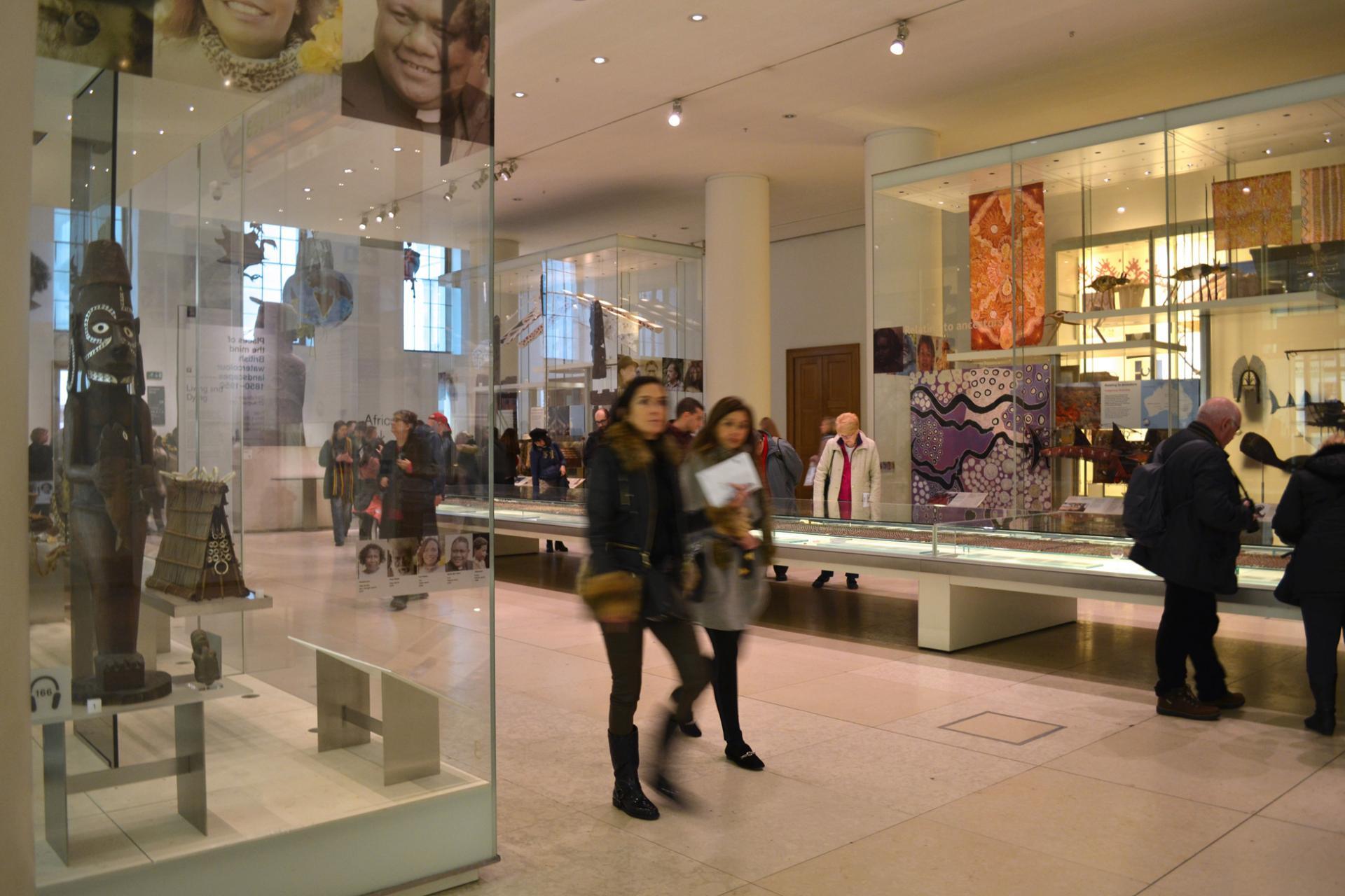 Exposition en el Museo Británico de Londres