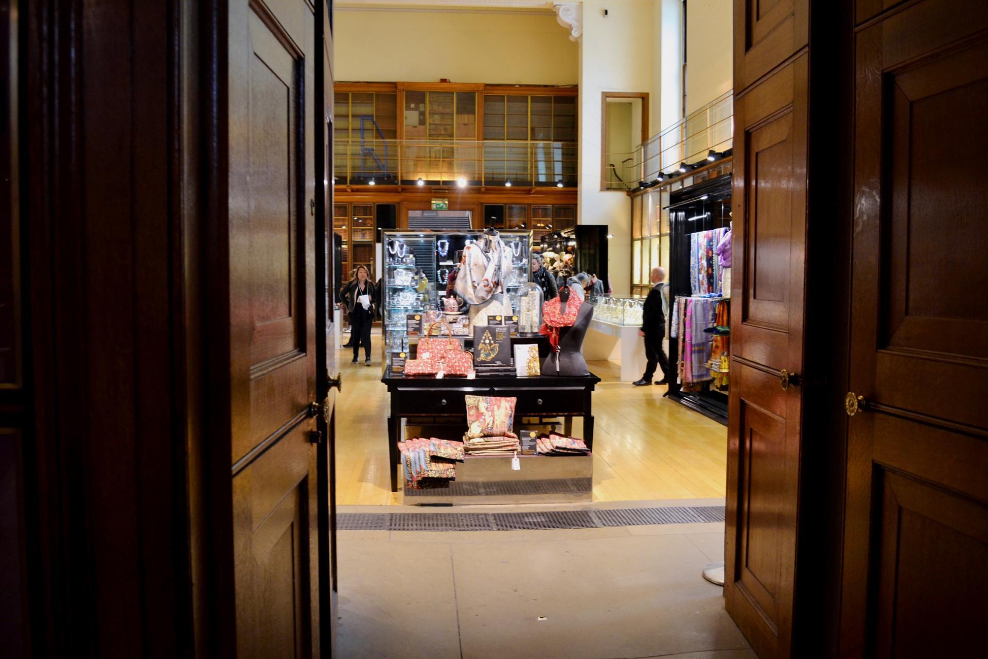 Museo Británico de Londres: tienda