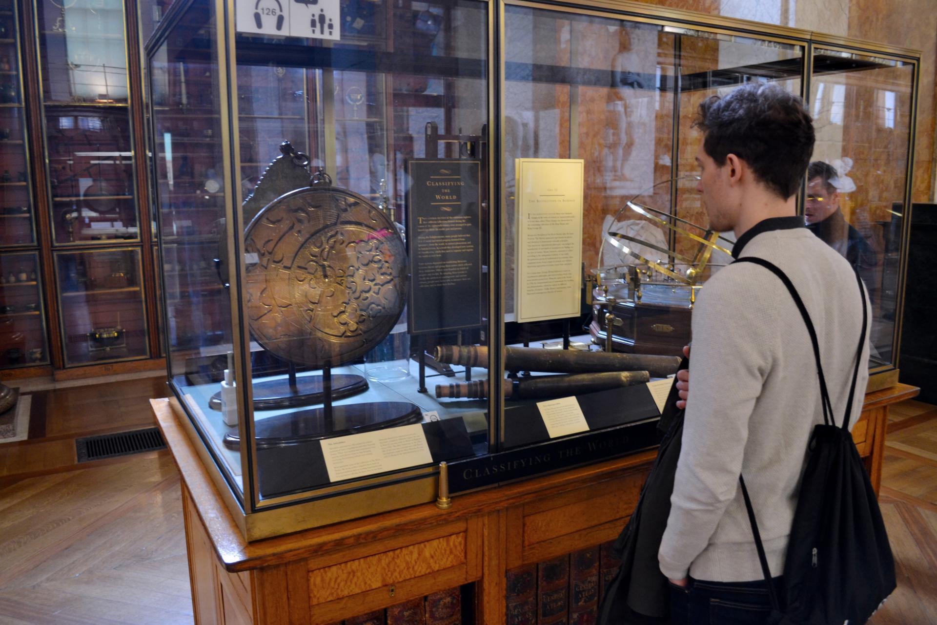 Matthias en el Museo Británico de Londres