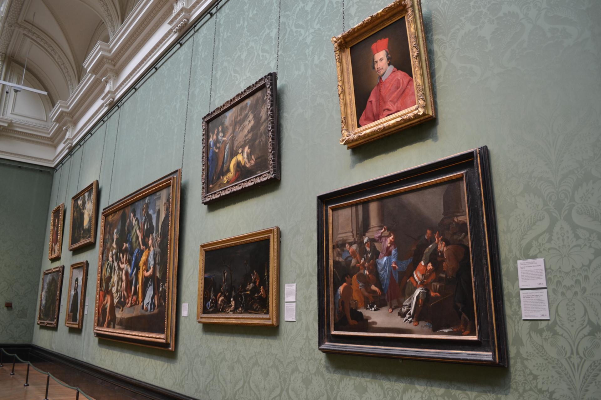 National Gallery: Mejores museos de Londres