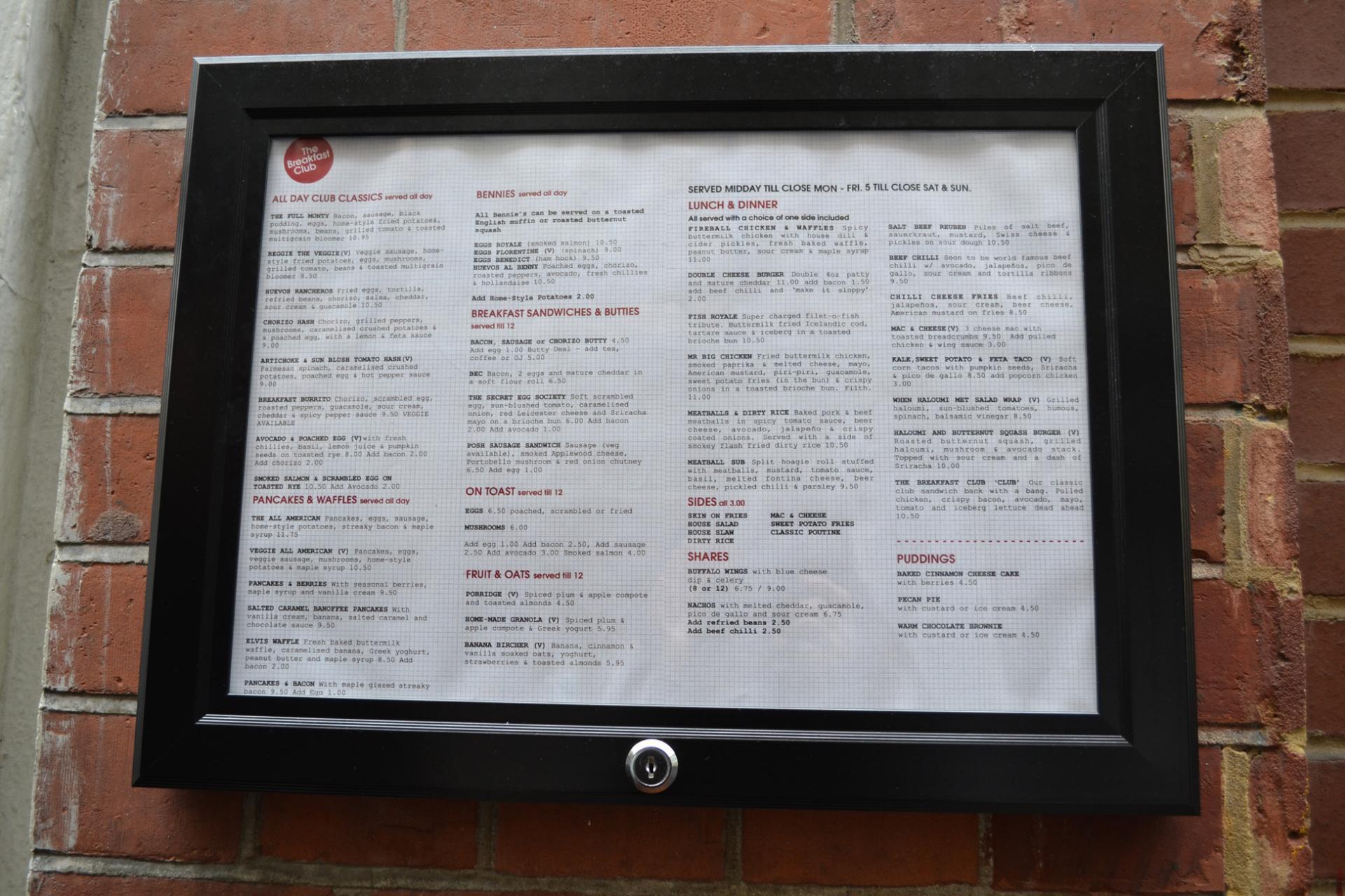 The Breakfast Club en Spitalfields, London