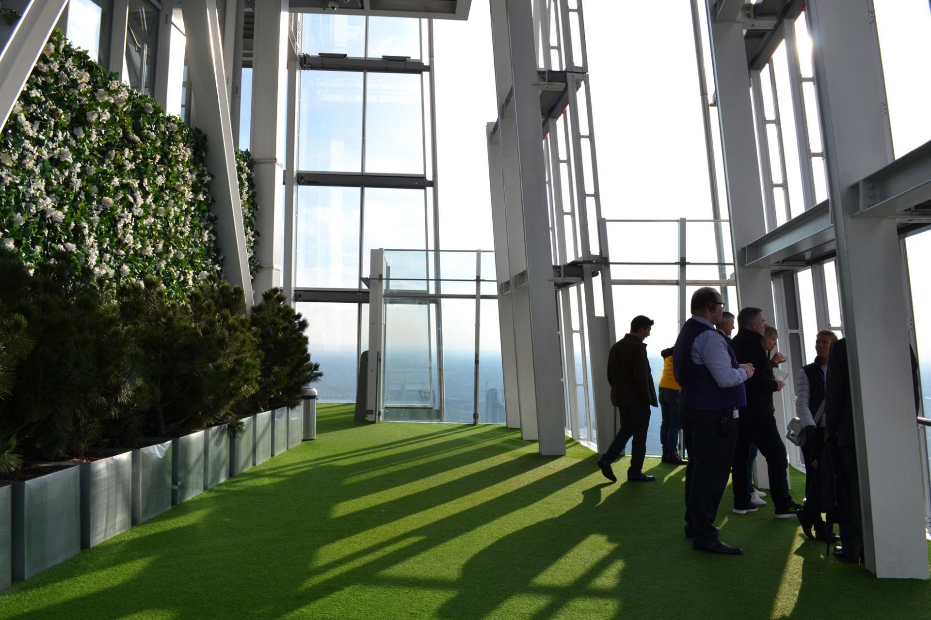 El mirador más alto de Londres: The view From the Shard