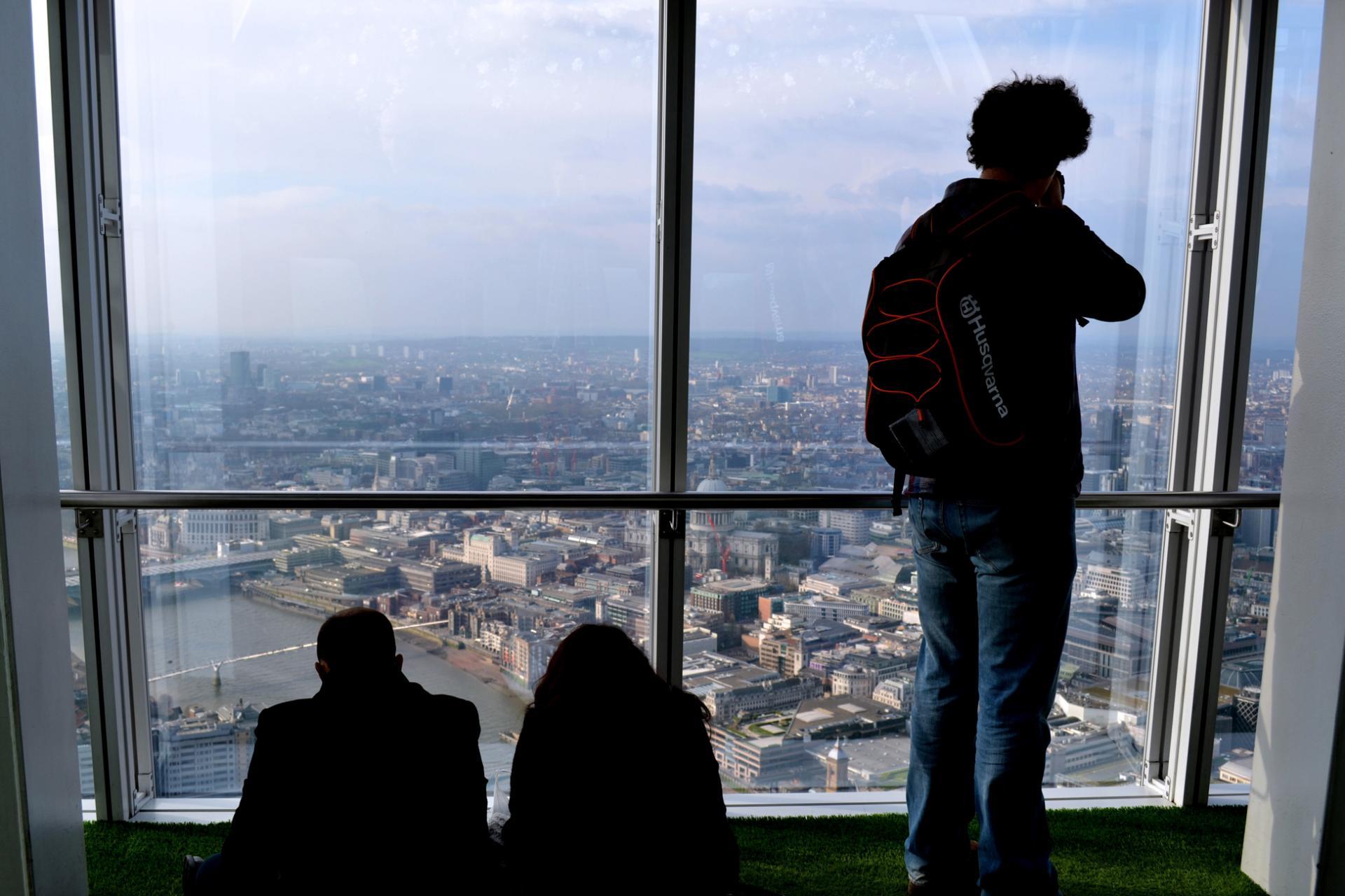 Las mejores vistas de Londres desde el view of the shard
