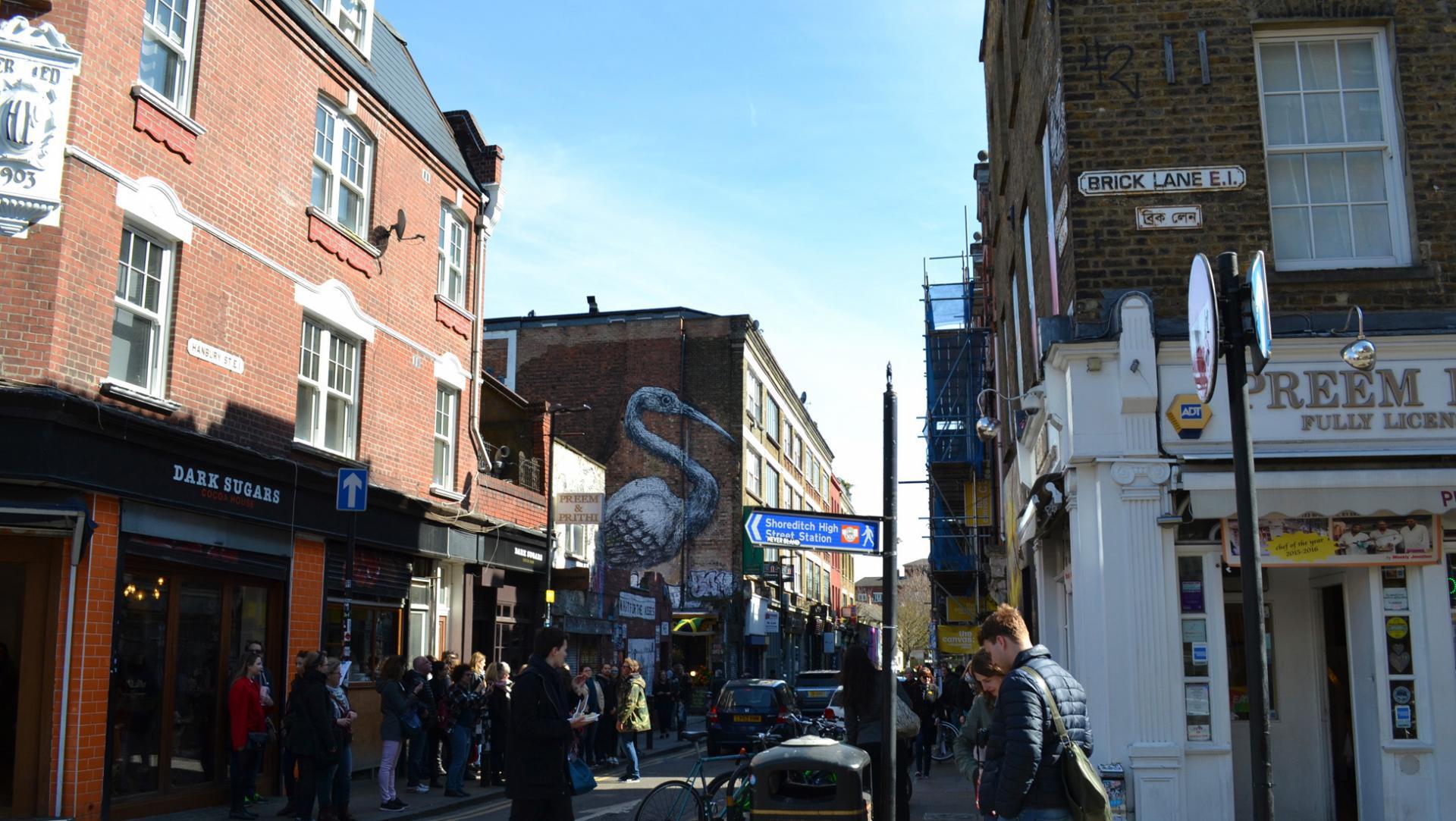Brick Lane de Londres
