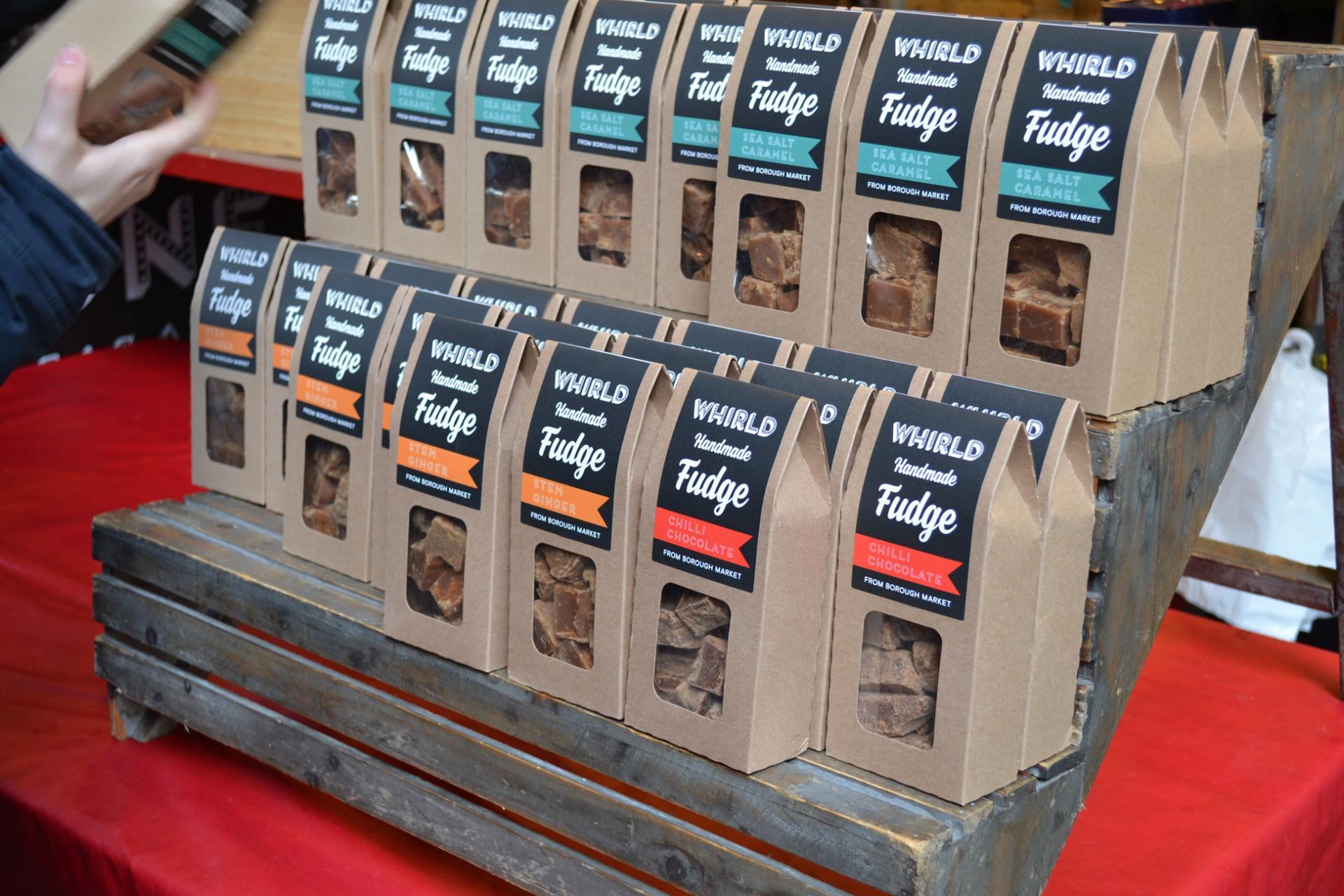 Chocolate artesano en el Borough Market de Londres