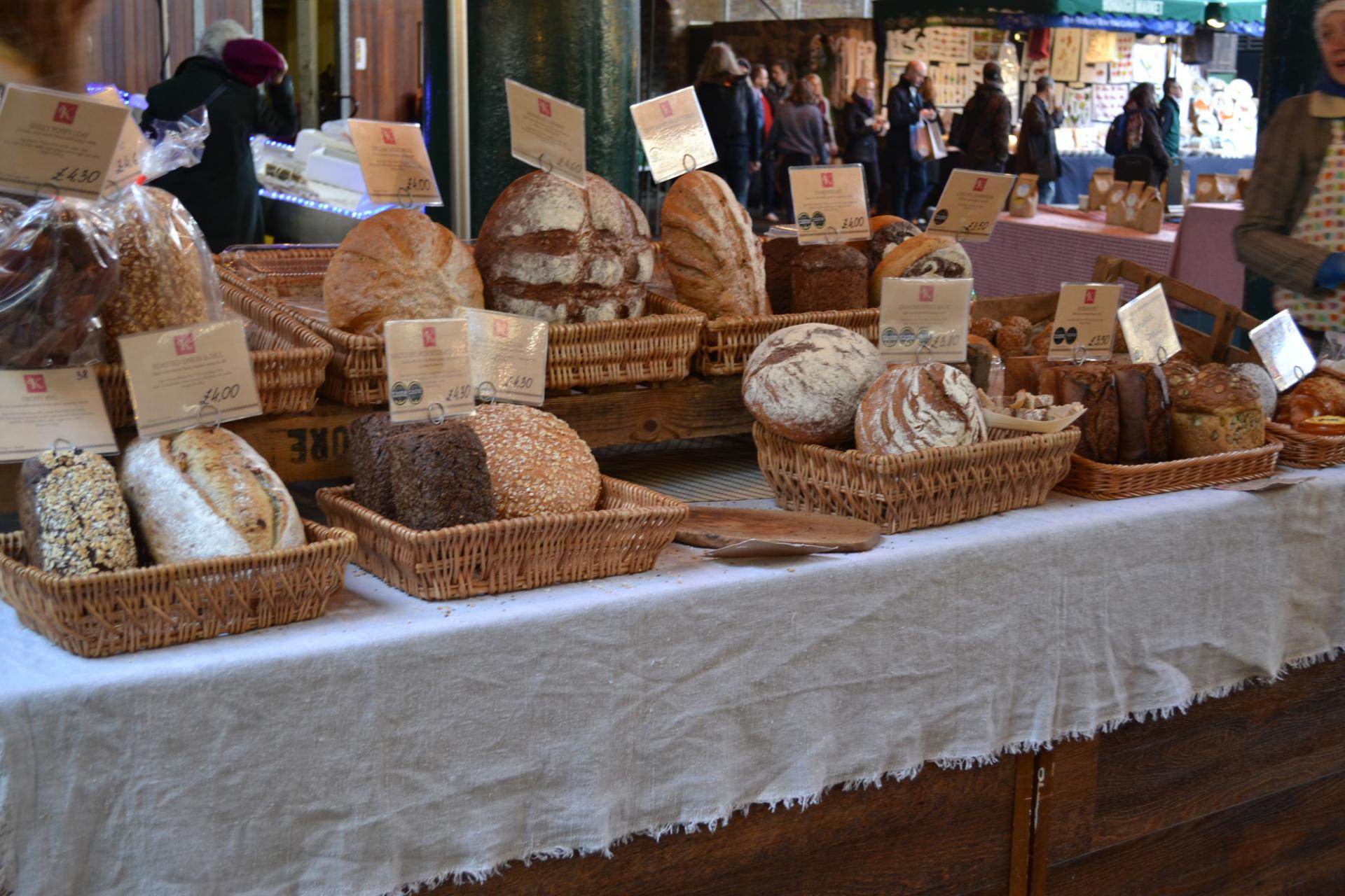 Pan en el Borough Market