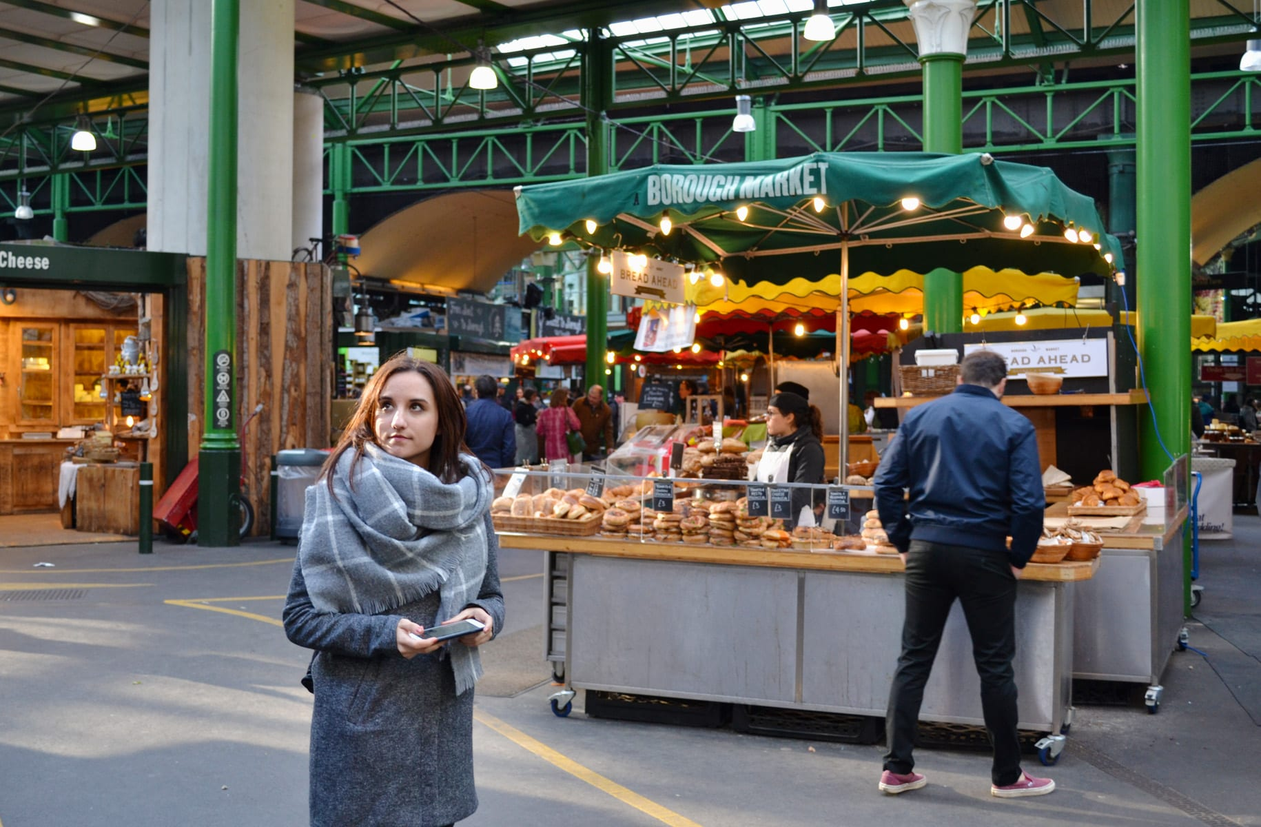 El Borough Market en Londres