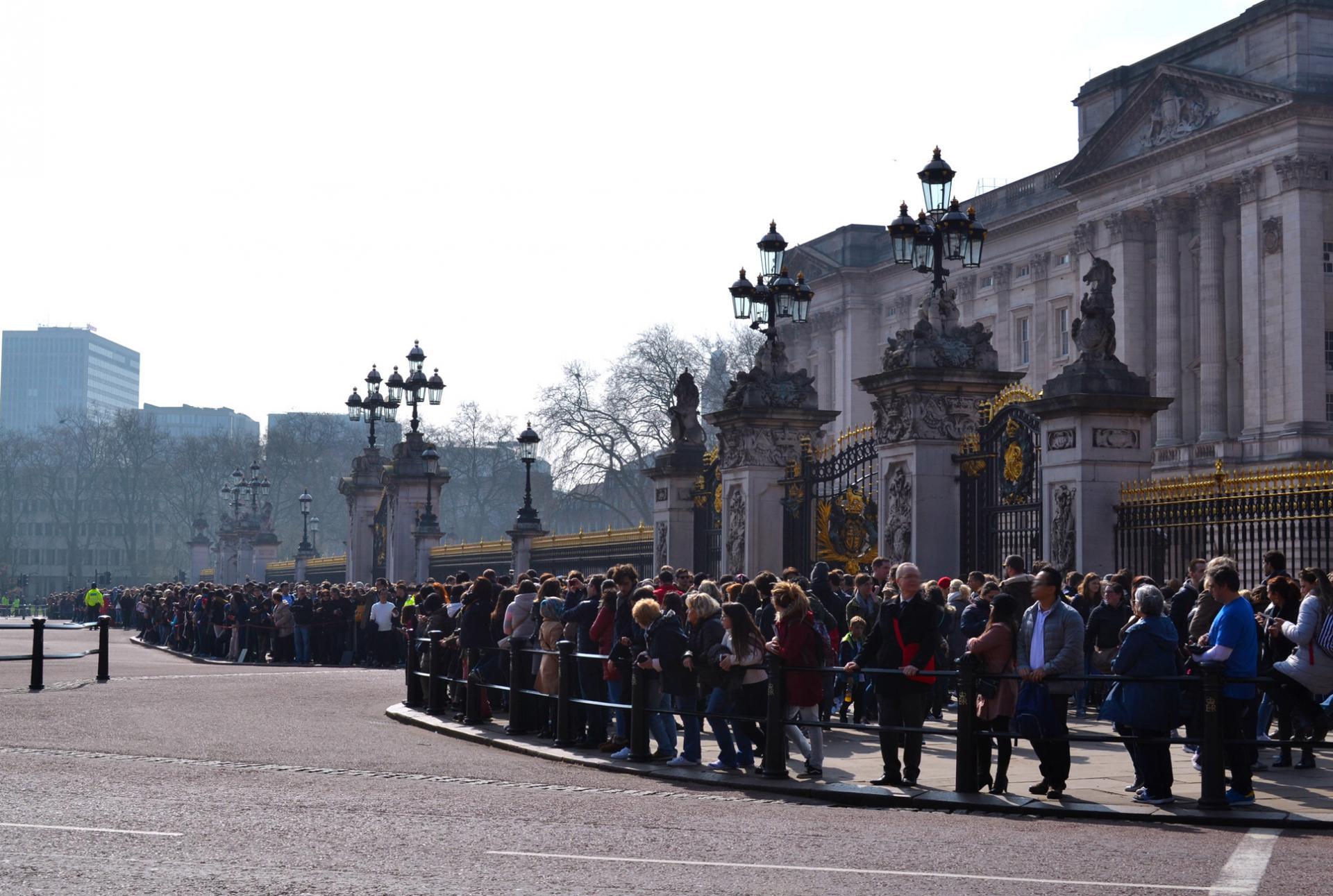 Cambio de Guardia en Londres