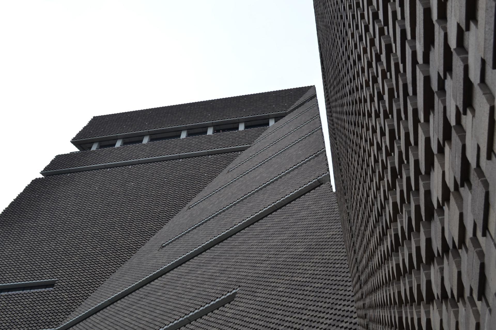 Parte nueva del edificio Tate Modern en Londres