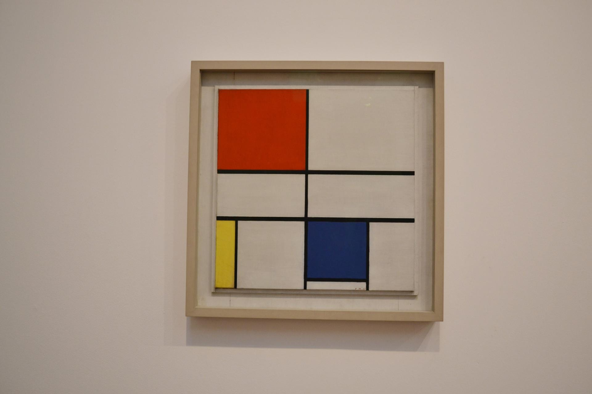 Tate Modern: Mondrian