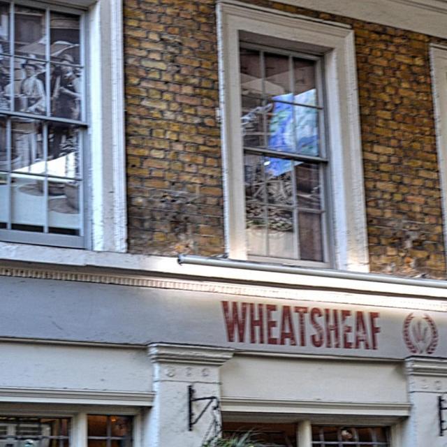 Pub Wheatsheaf en el Borough Market