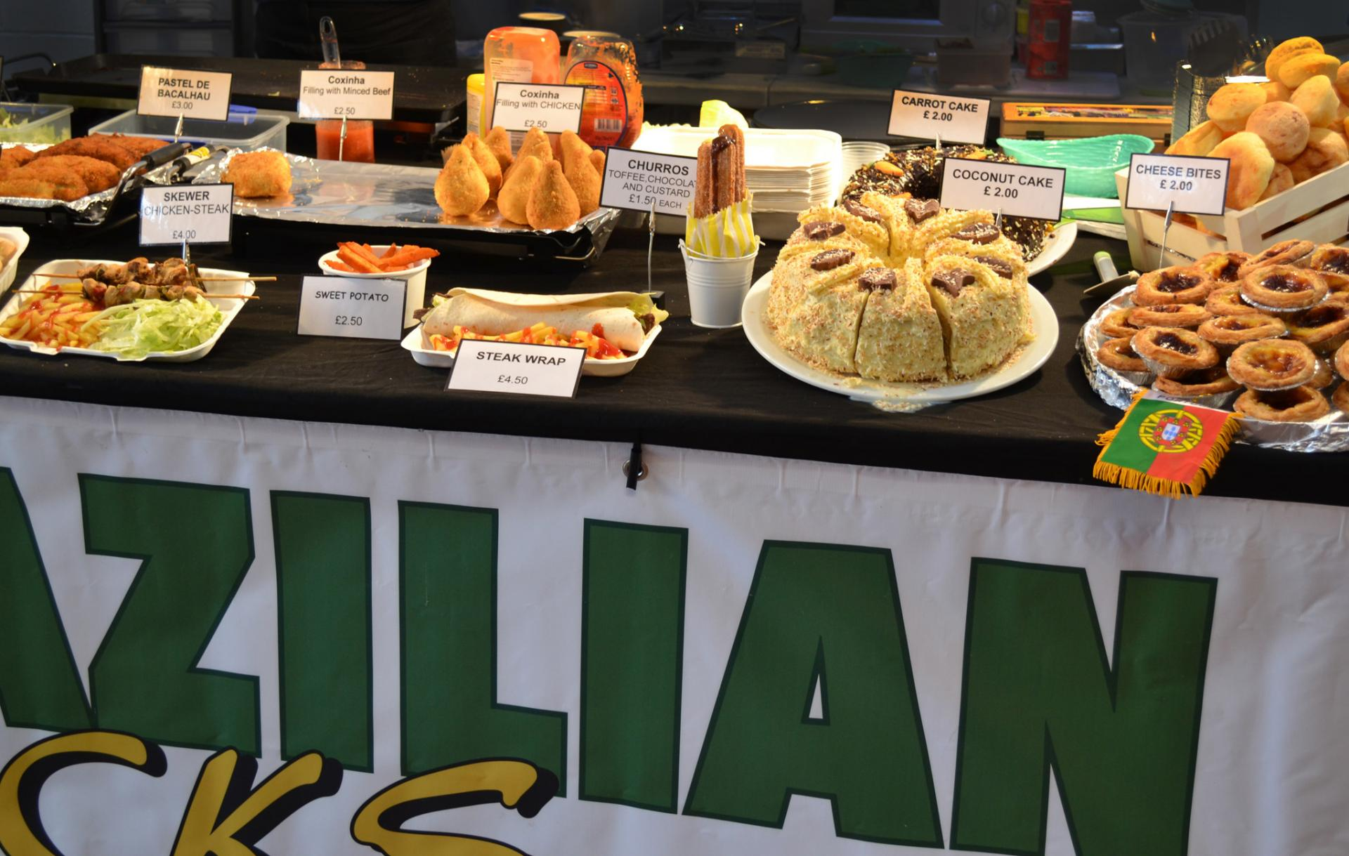 Boiler House Food Market: Comida brasileña