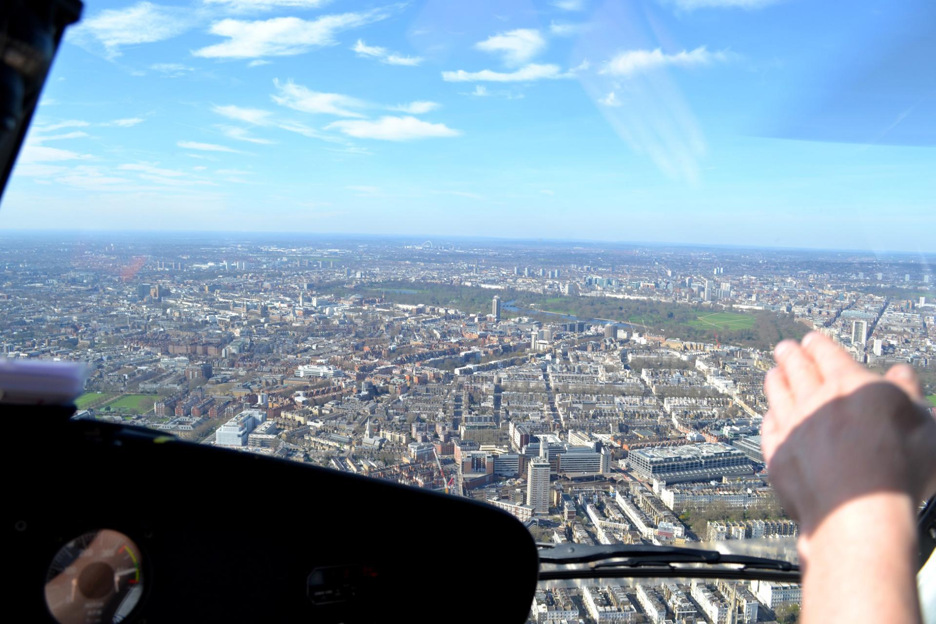 Vuelo helicóptero en Londres: Hyde Park