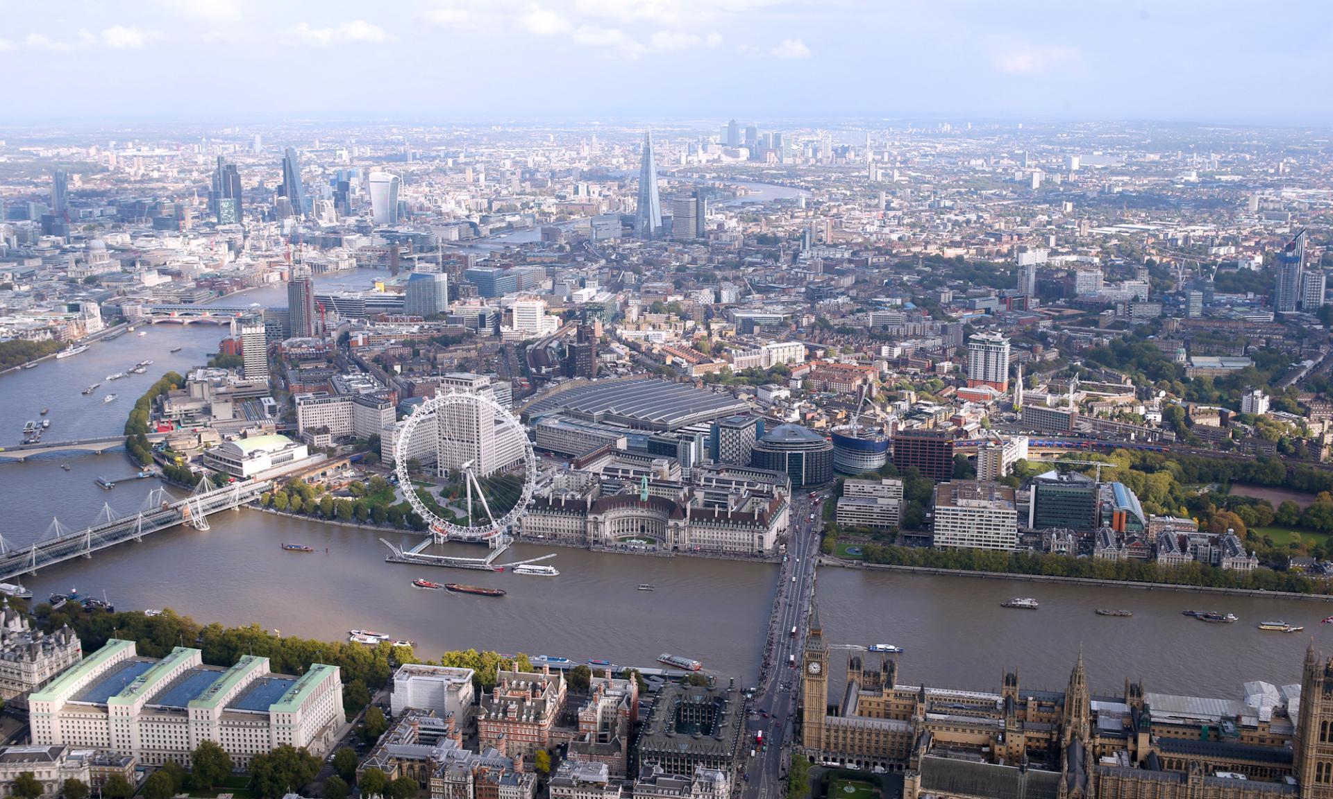 London desde el aire: London Helicopter Tour