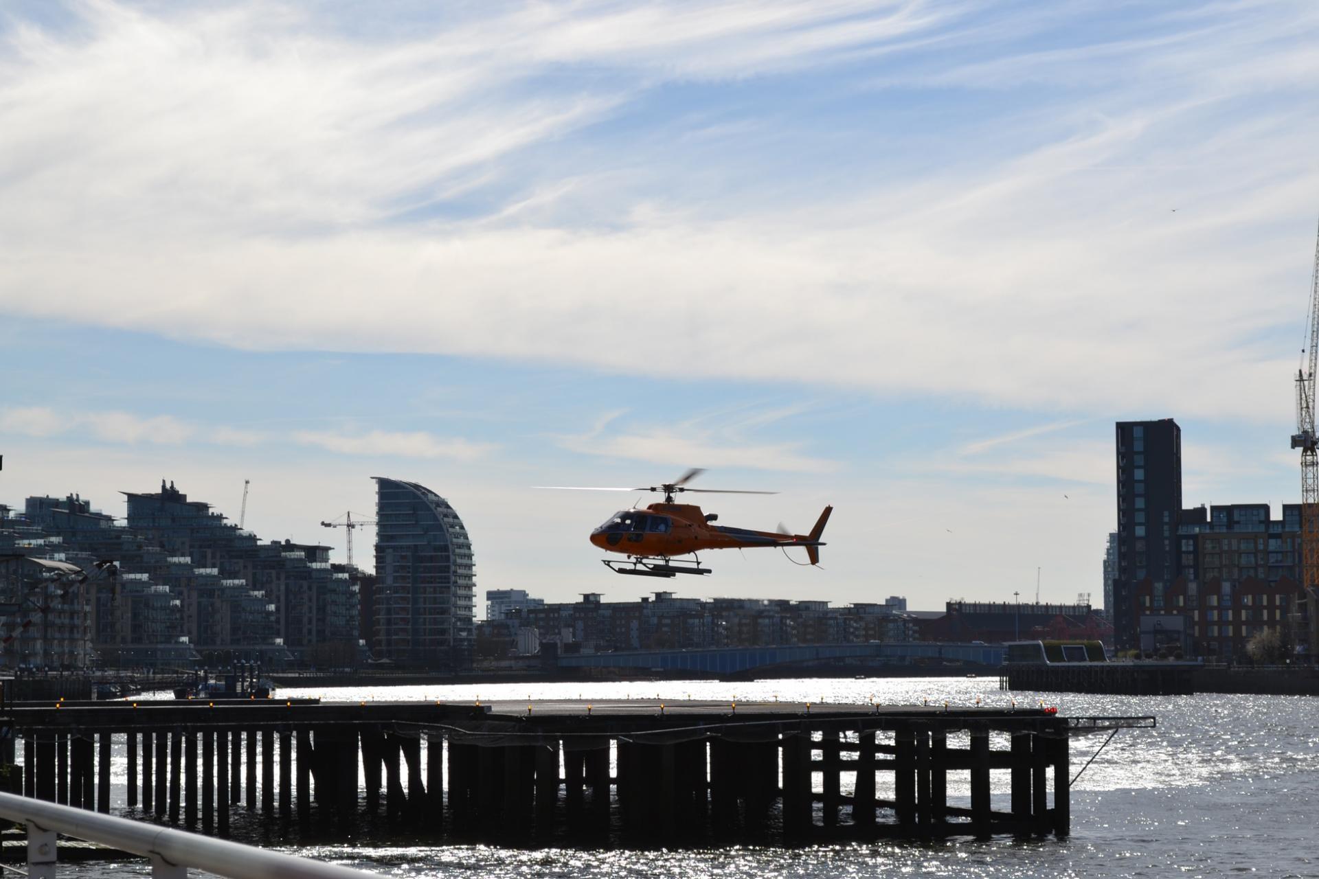 Vuelo en helicóptero por Londres