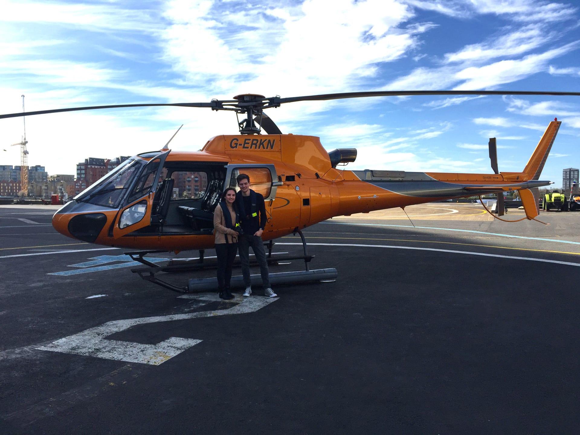 Nuestro vuelo en helicóptero en Londres: Loving London