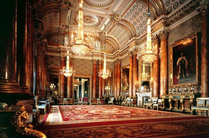Castillo de Windsor y Buckingham Palace:  Excursión de  un día