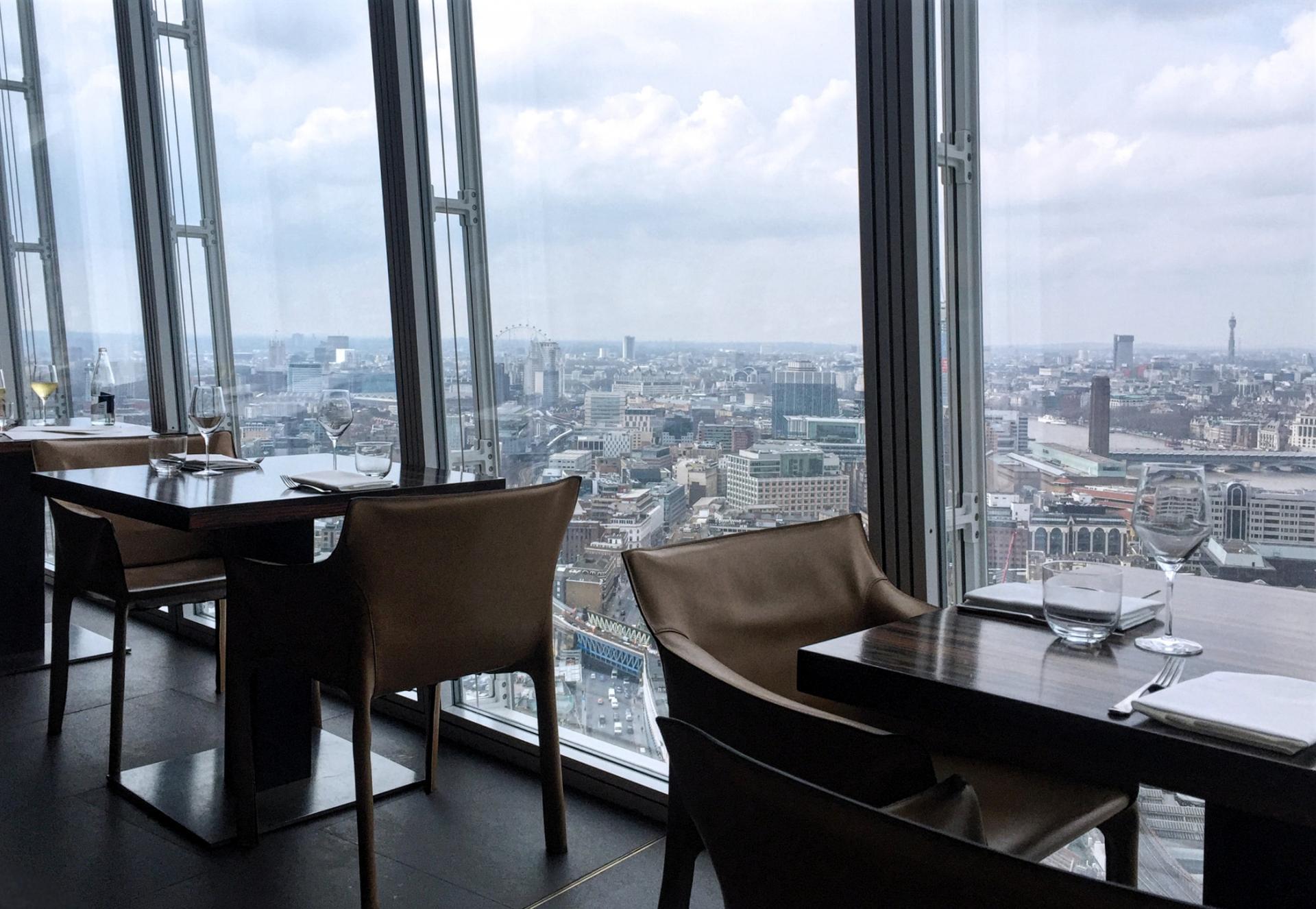 Oblix Restaurant en Londres
