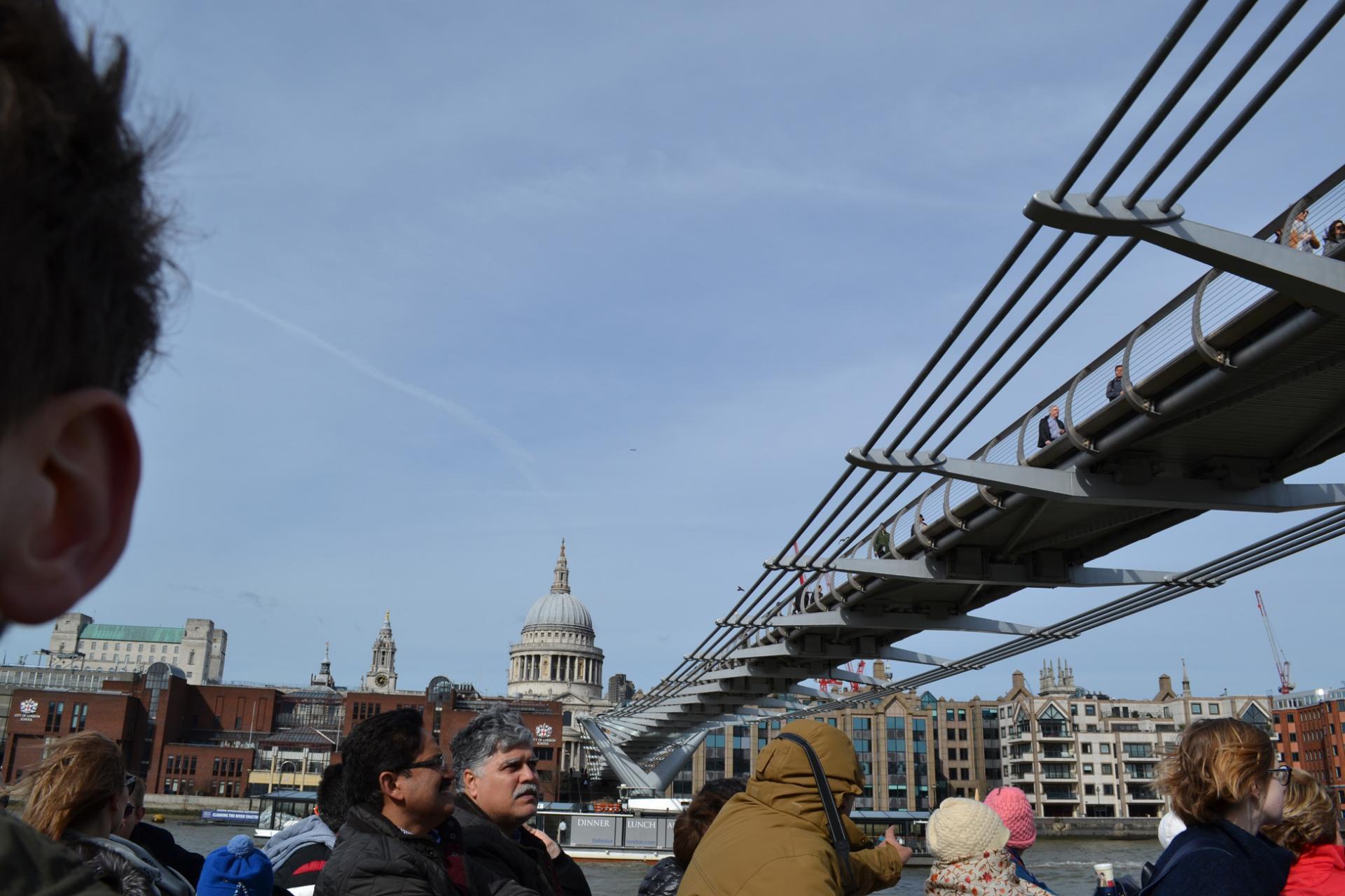 Paseo en barco en Londres